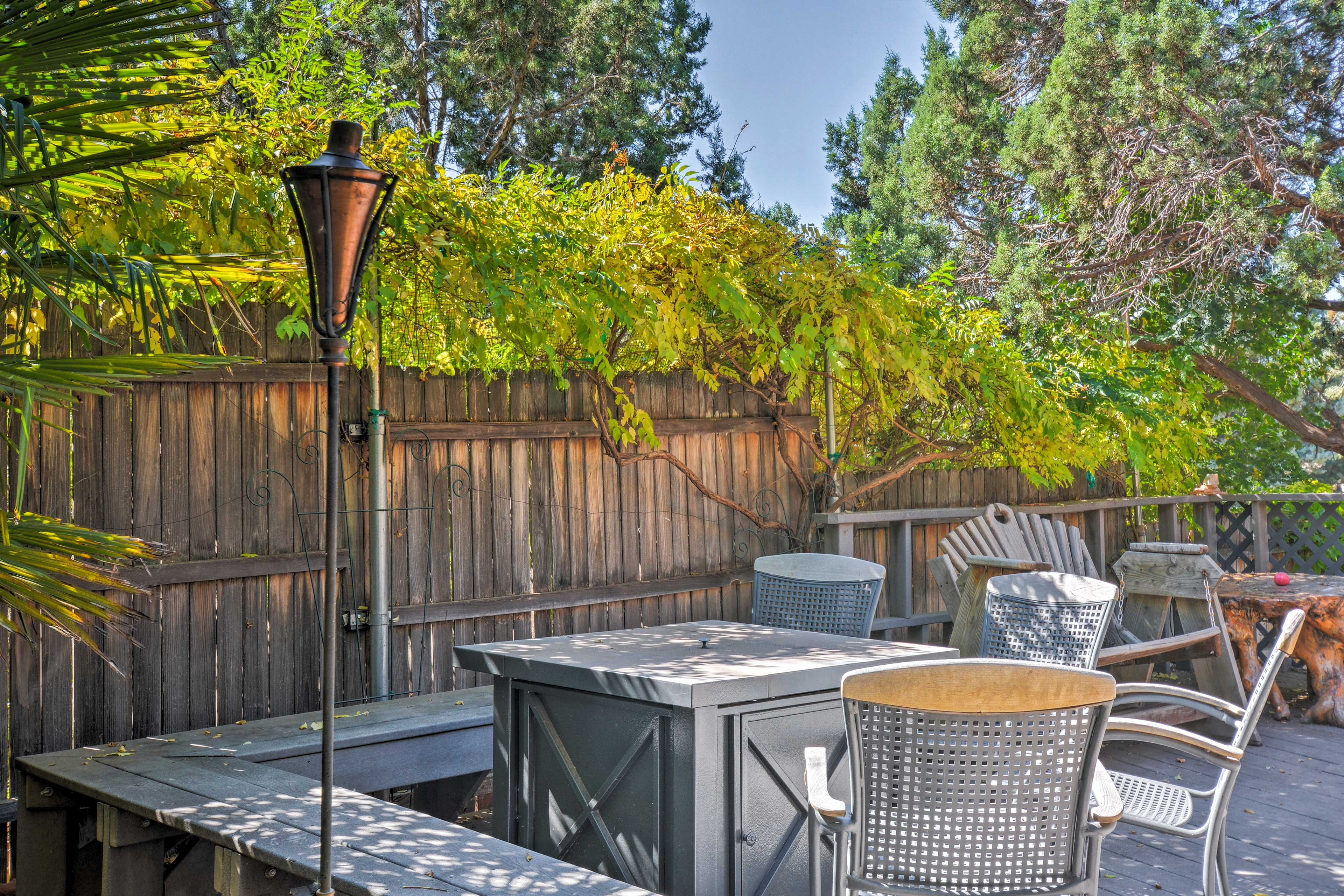 Private Deck | Gas Fire Pit | Outdoor Seating