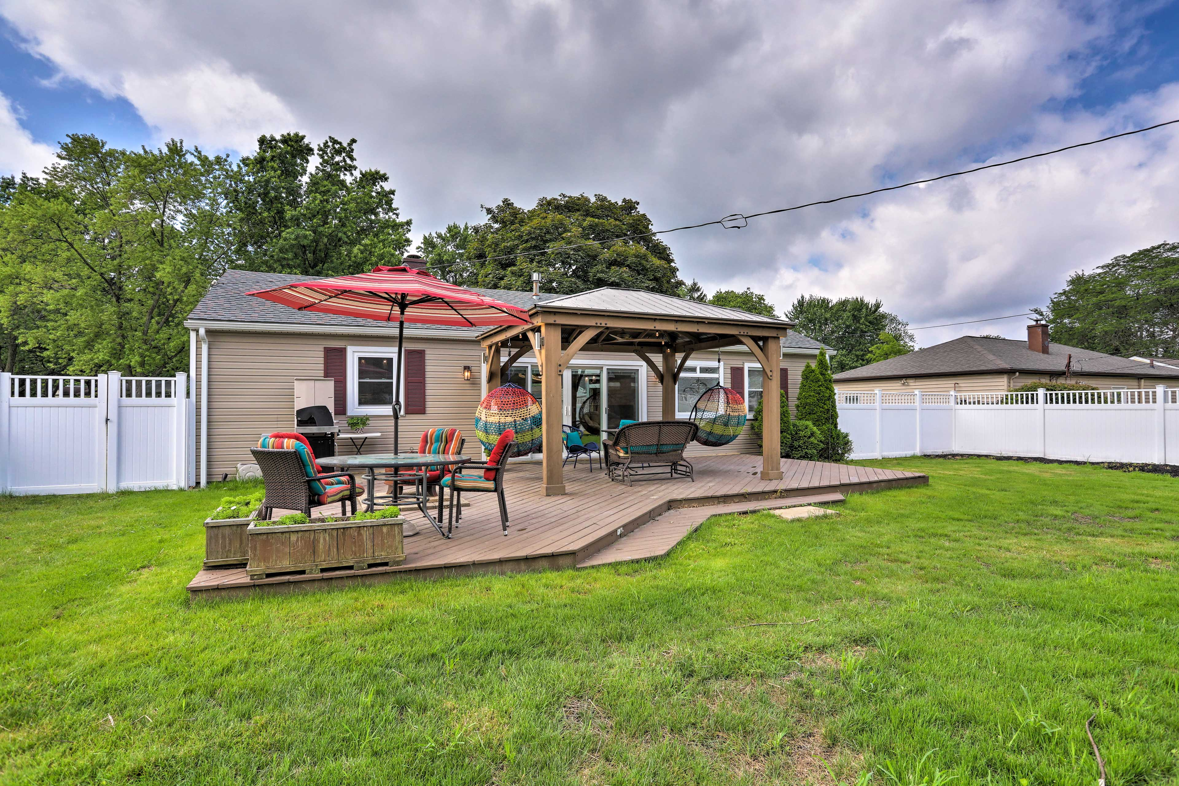 A relaxing retreat awaits you at this 2-bedroom, 2-bath vacation rental home!