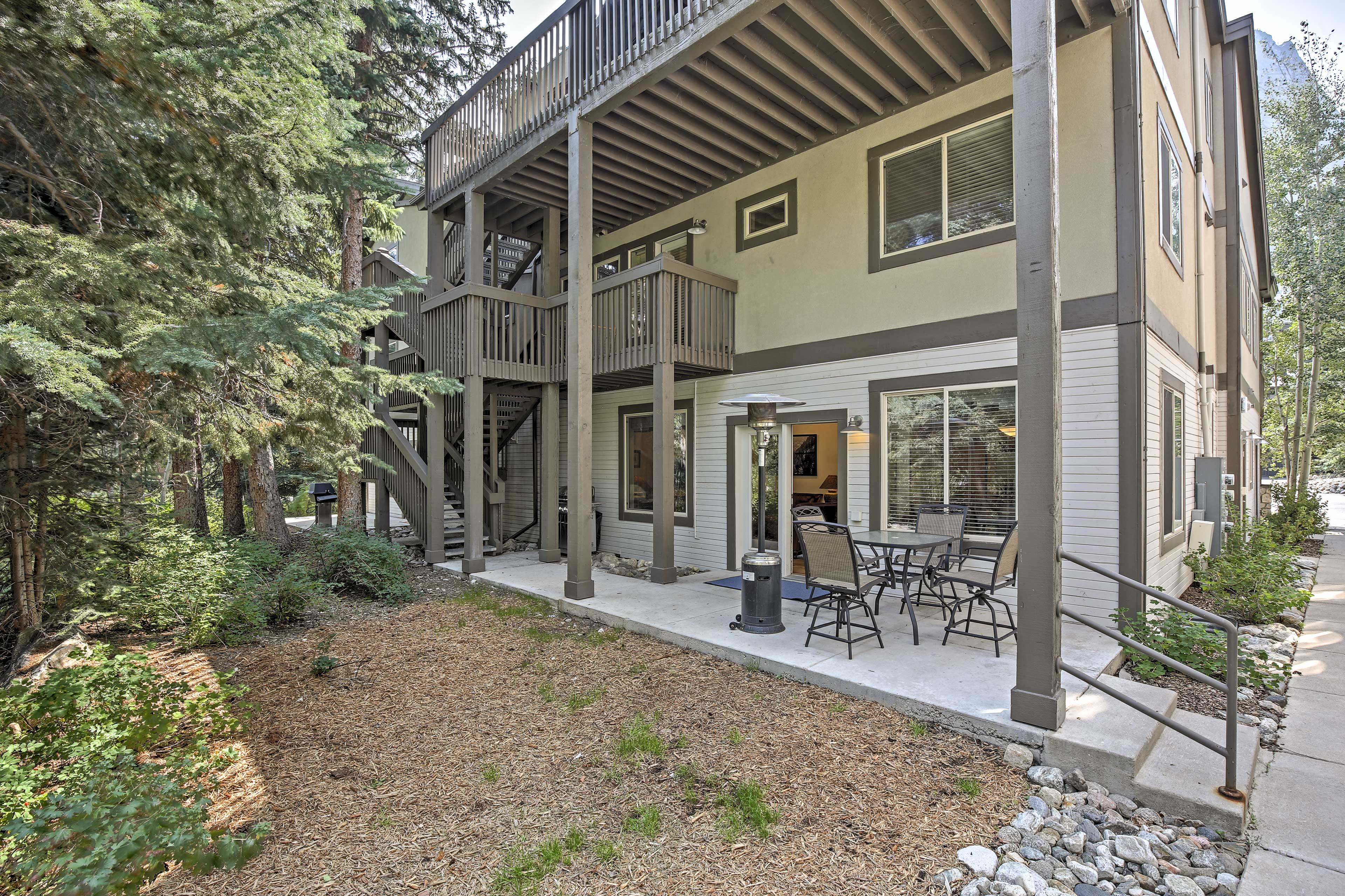 Experience the great outdoors from this Frisco vacation rental condo!