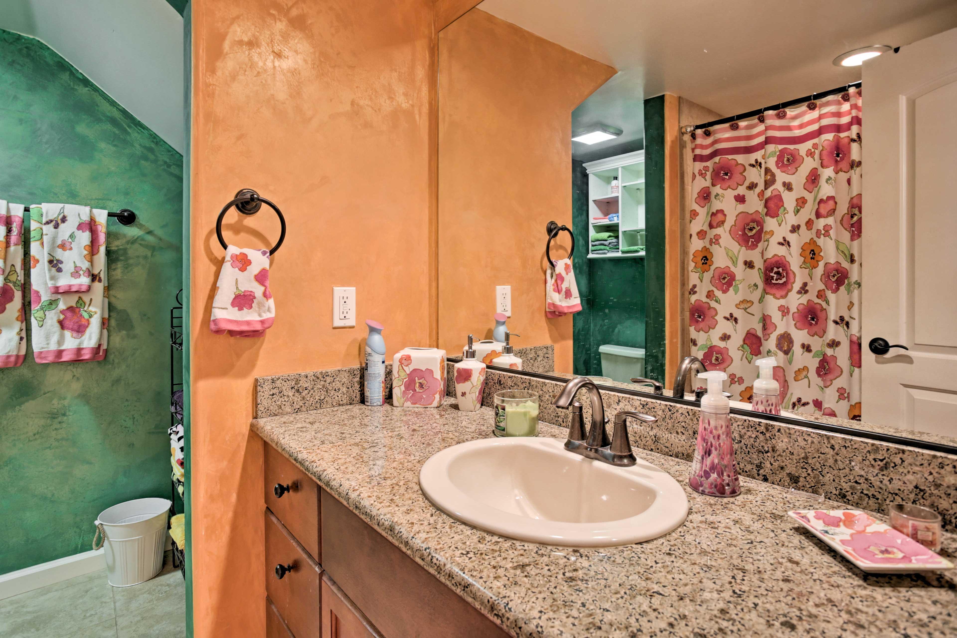 Both bedrooms feature en-suite bathrooms.