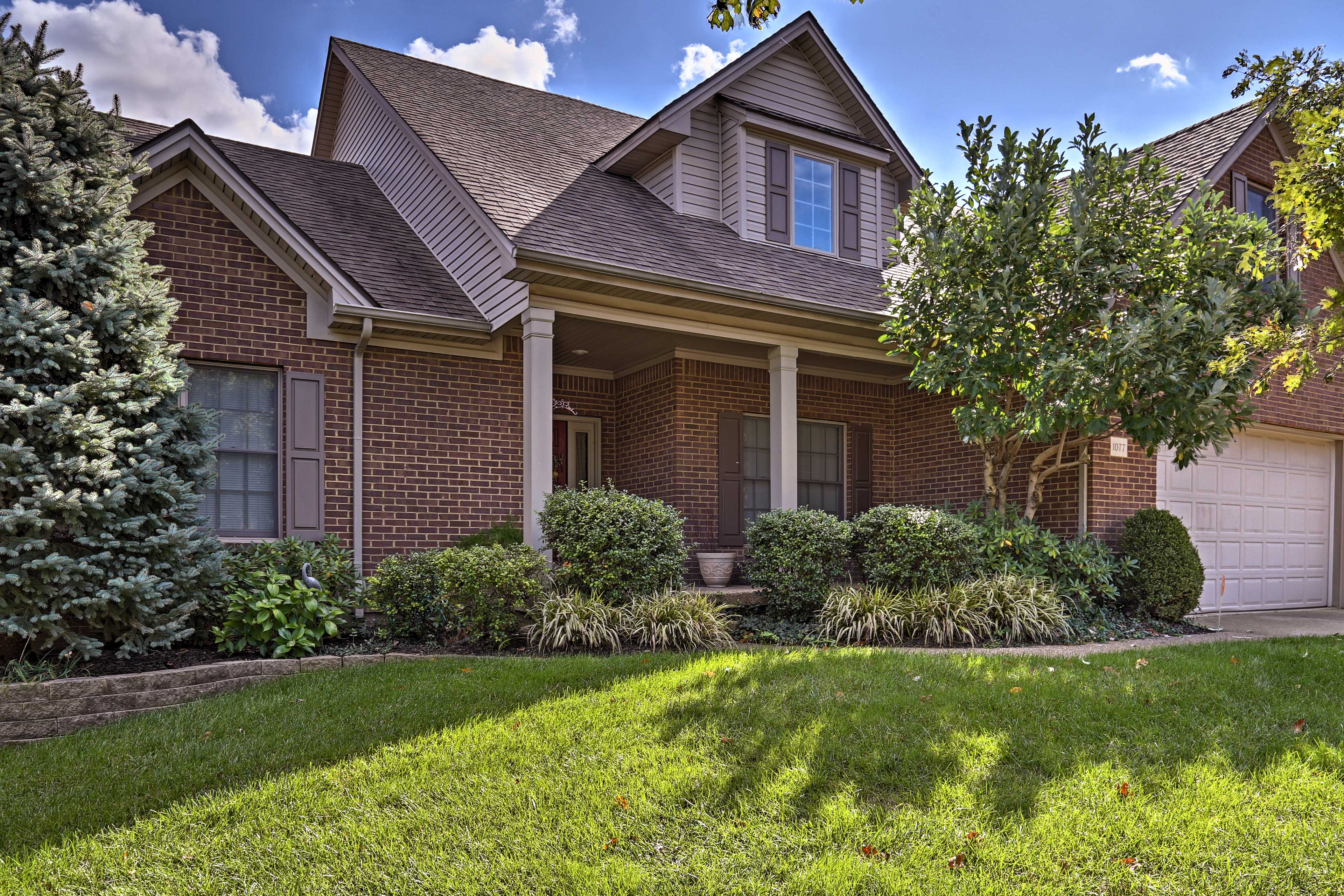 Escape to Lexington by booking this 5-bedroom, 3.5-bathroom vacation rental house!