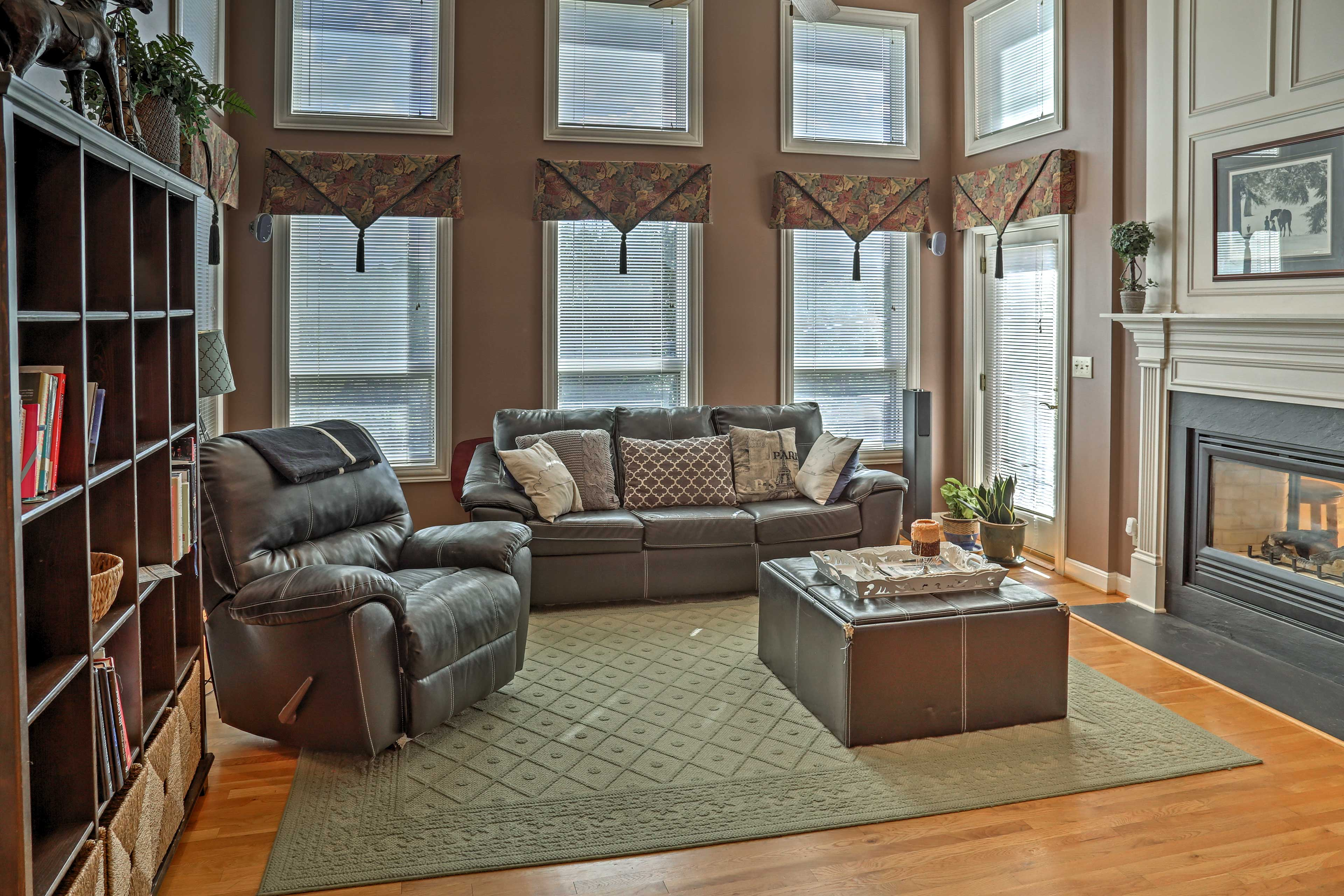 This home boasts 2,728 square feet of well-appointed living space.