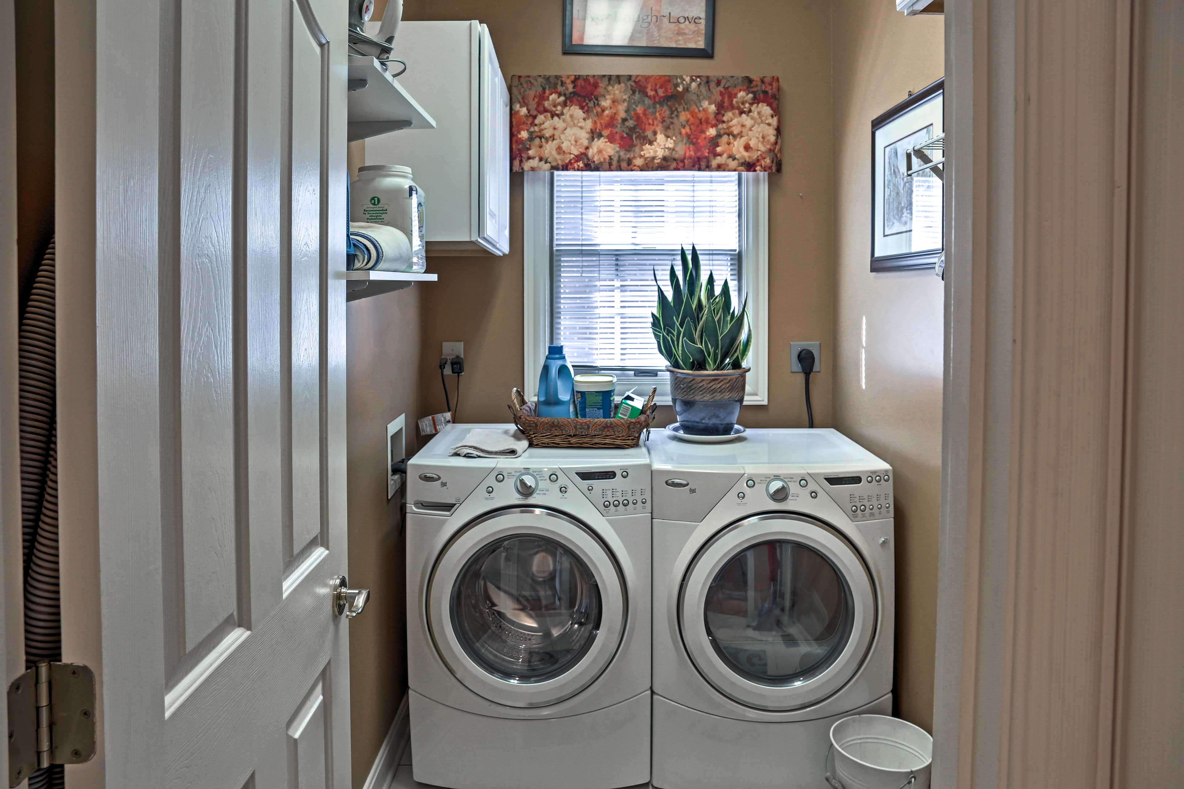 Keep your clothes fresh and clean during your stay.
