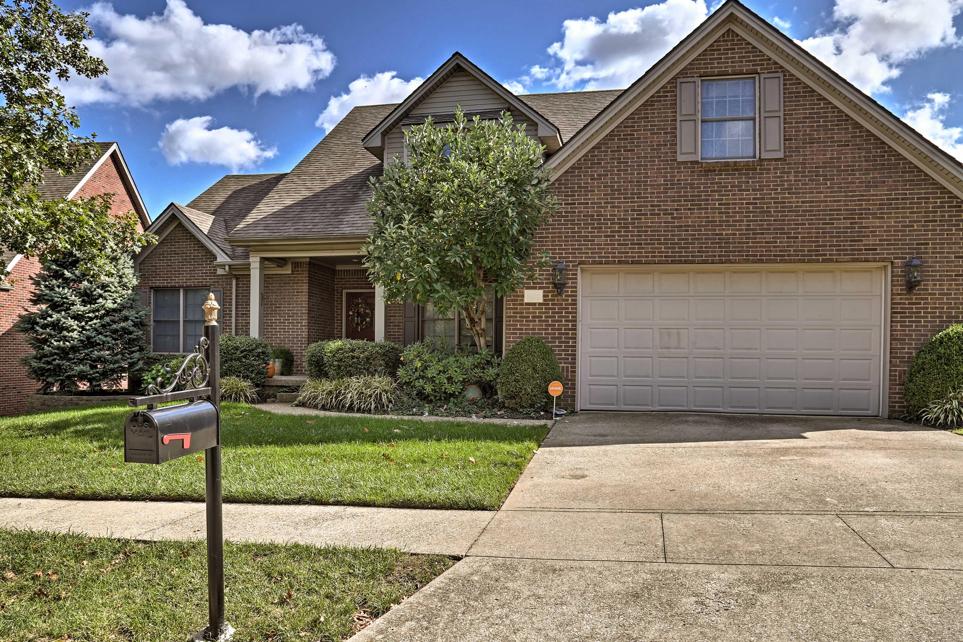 Easy living awaits at this gorgeous Lexington home.