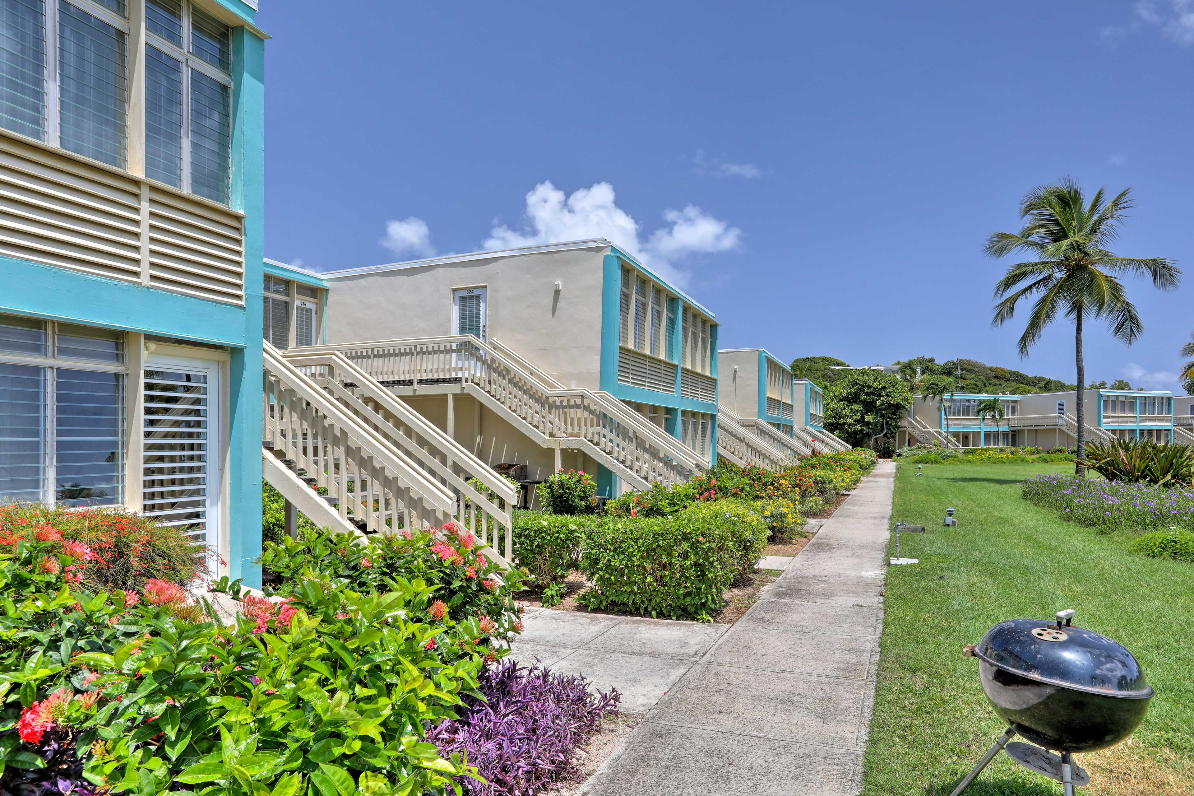 Up to 4 travelers will adore the amenities at Sapphire Bay Condominiums West.