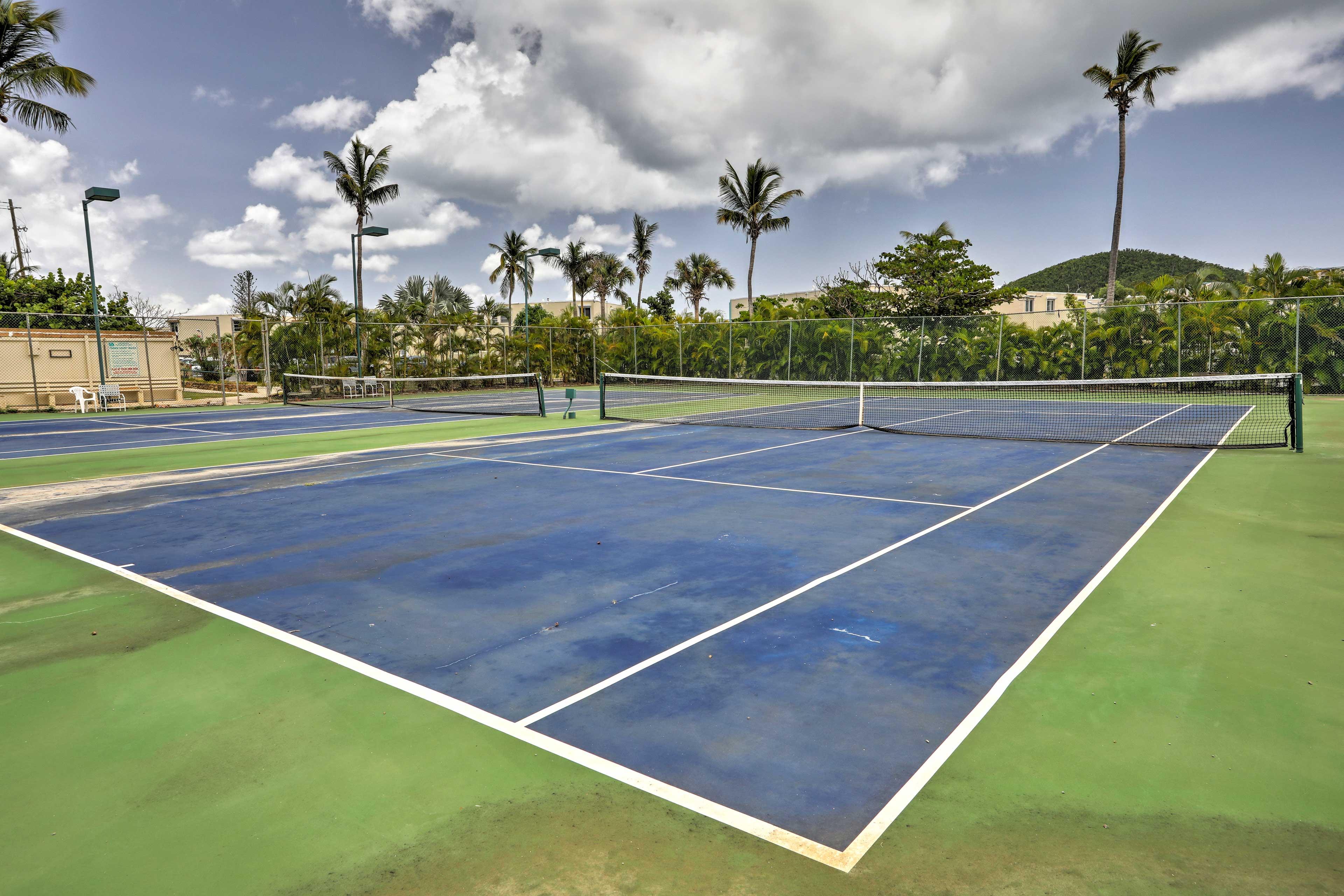 Tennis match anyone?