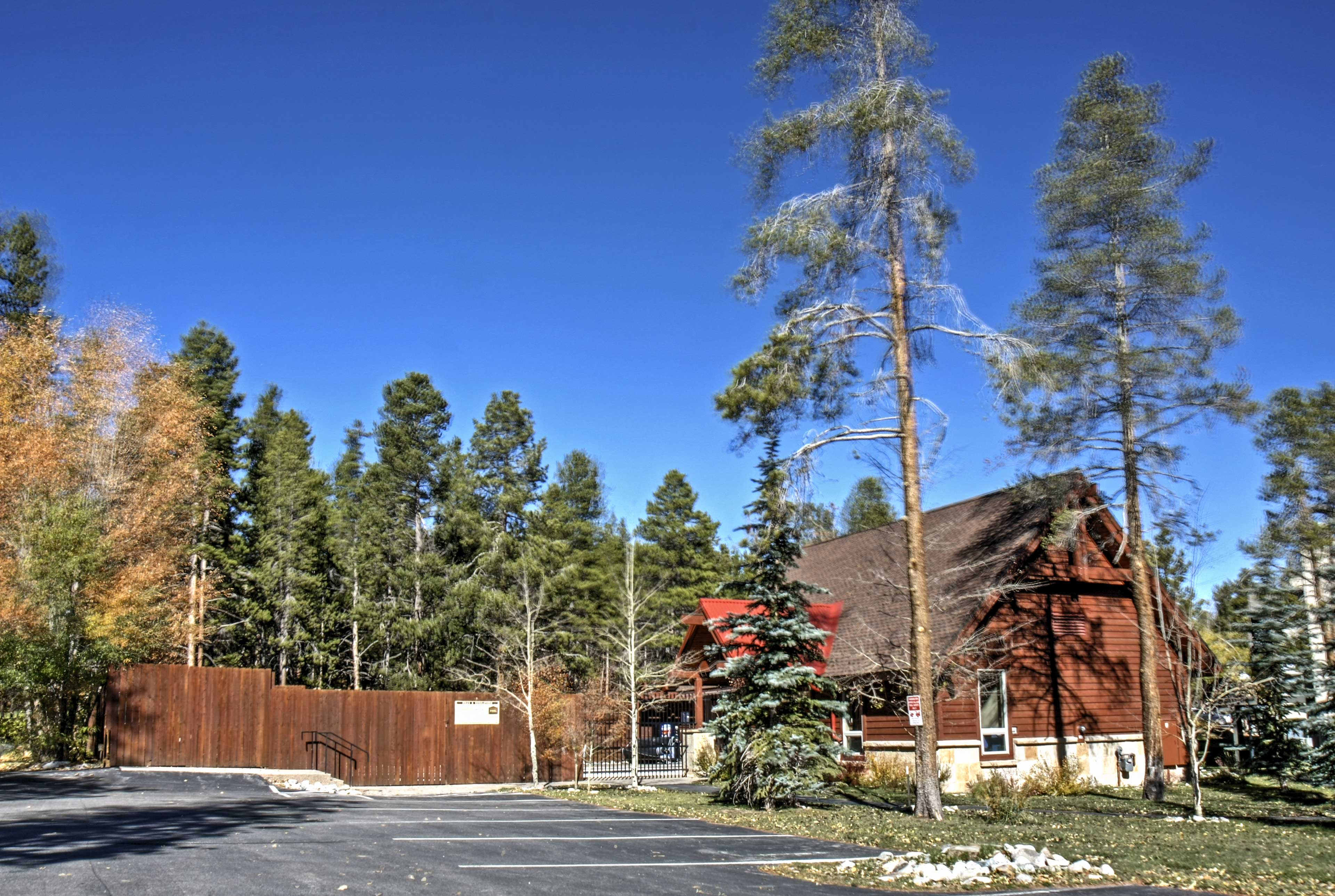 You'll be walking distance to the ski lift!