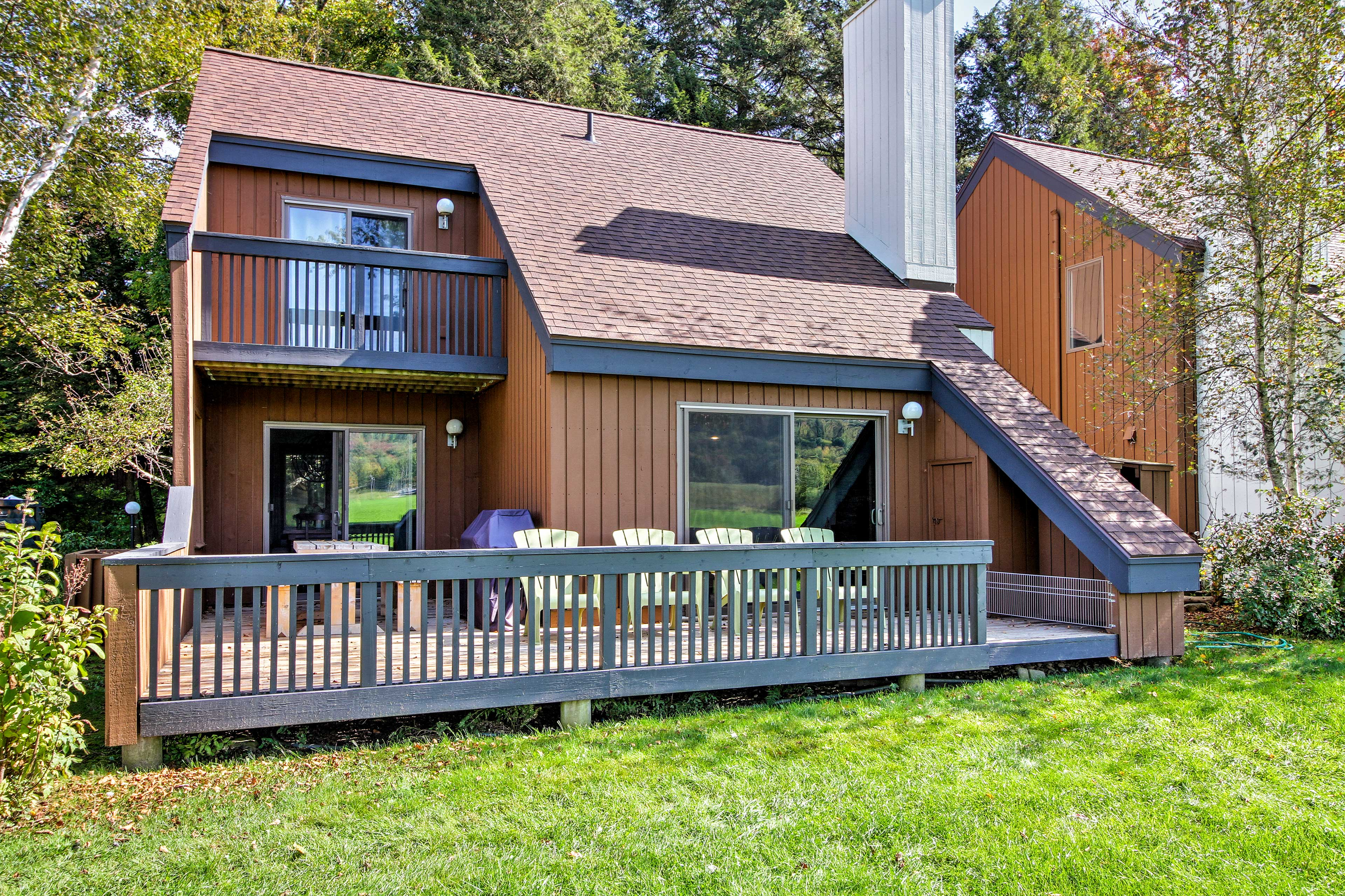 Escape to Vermont and stay at this 2-bedroom, 2-bath vacation rental in Stowe!