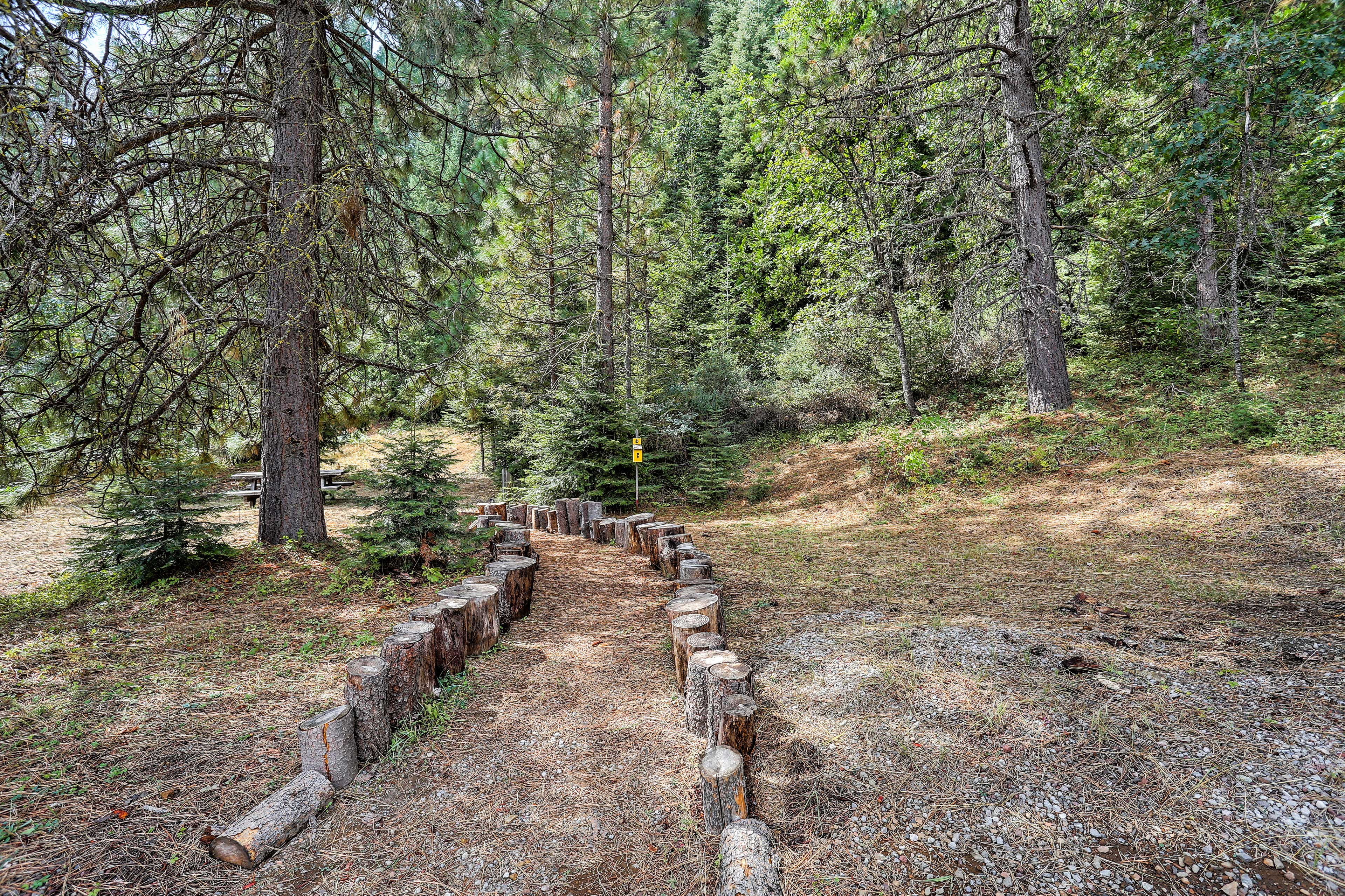 Explore the walking trails throughout the property.