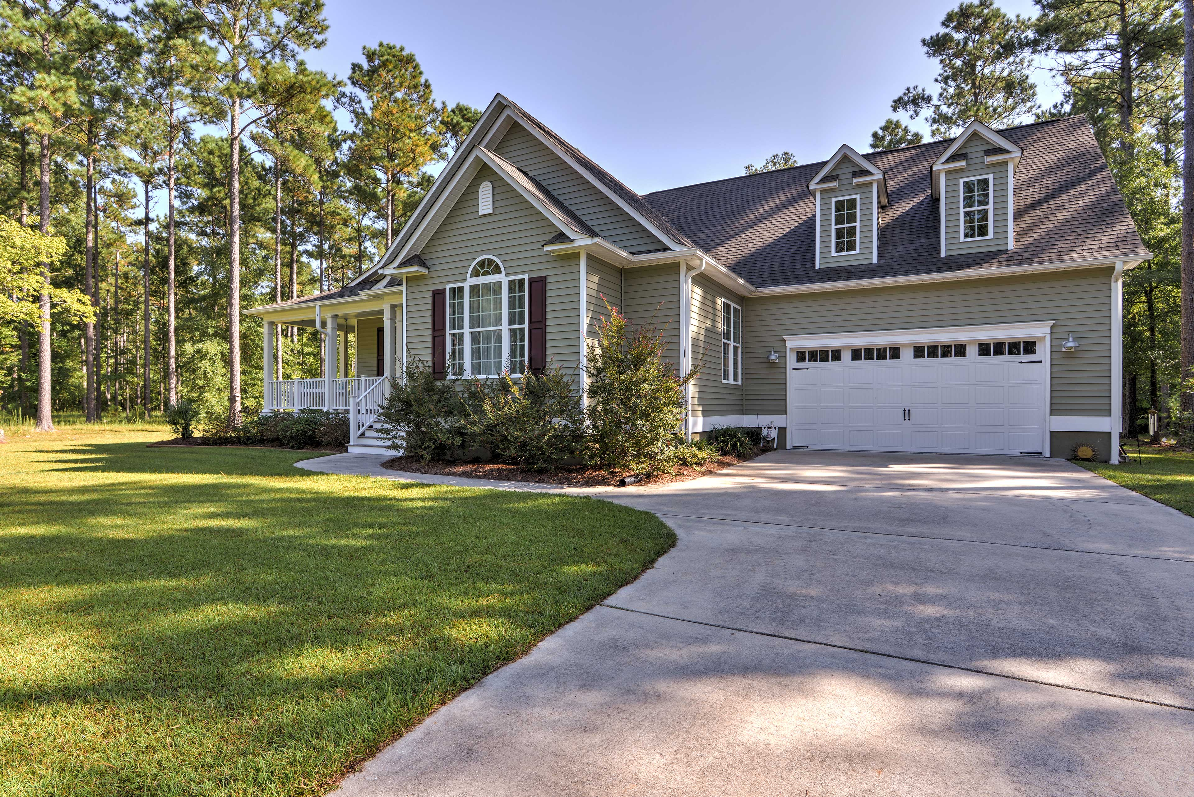 This North Carolina home is perfect for families wanting a peaceful vacation.