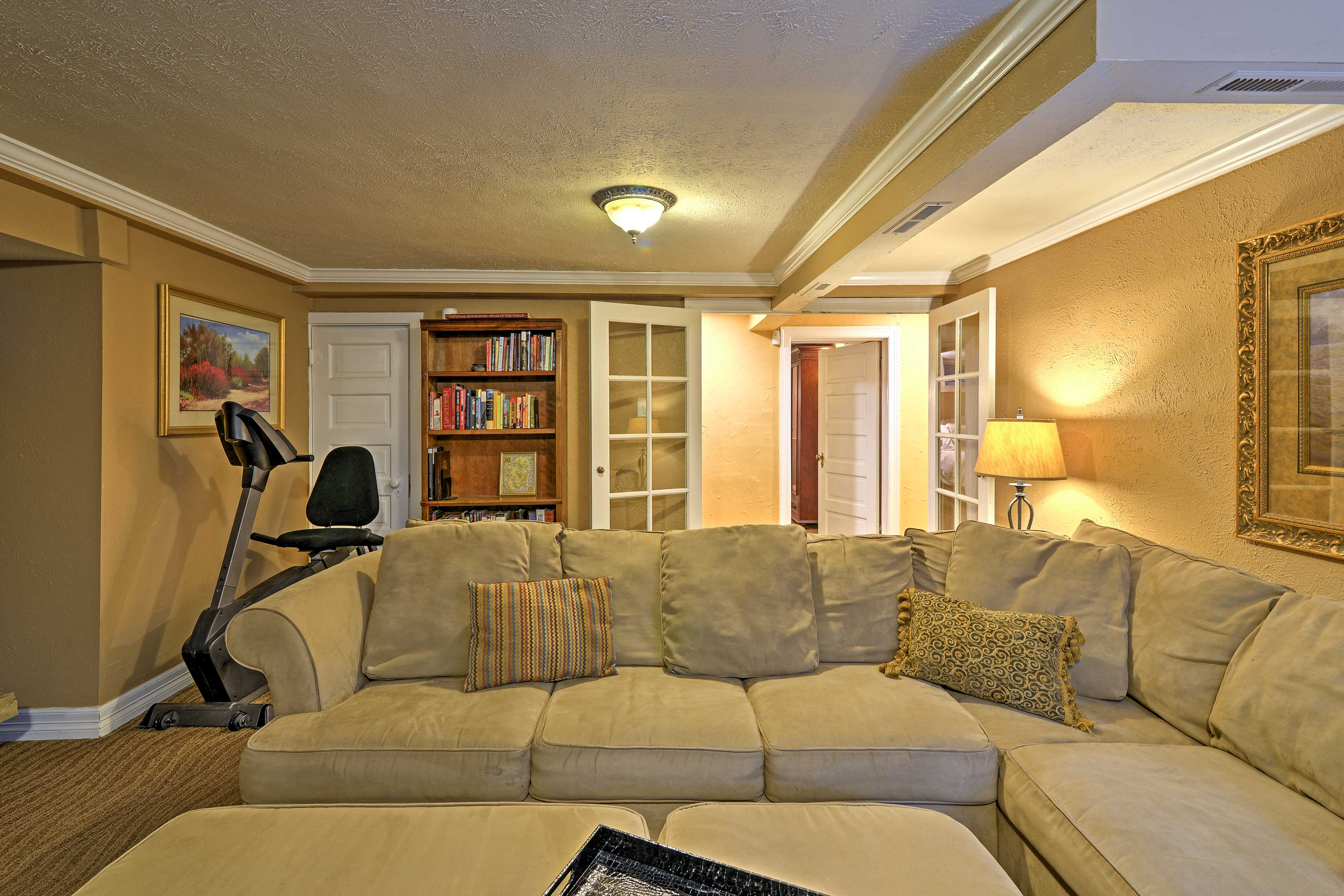 The property is located in Denver's South Park Hill district.