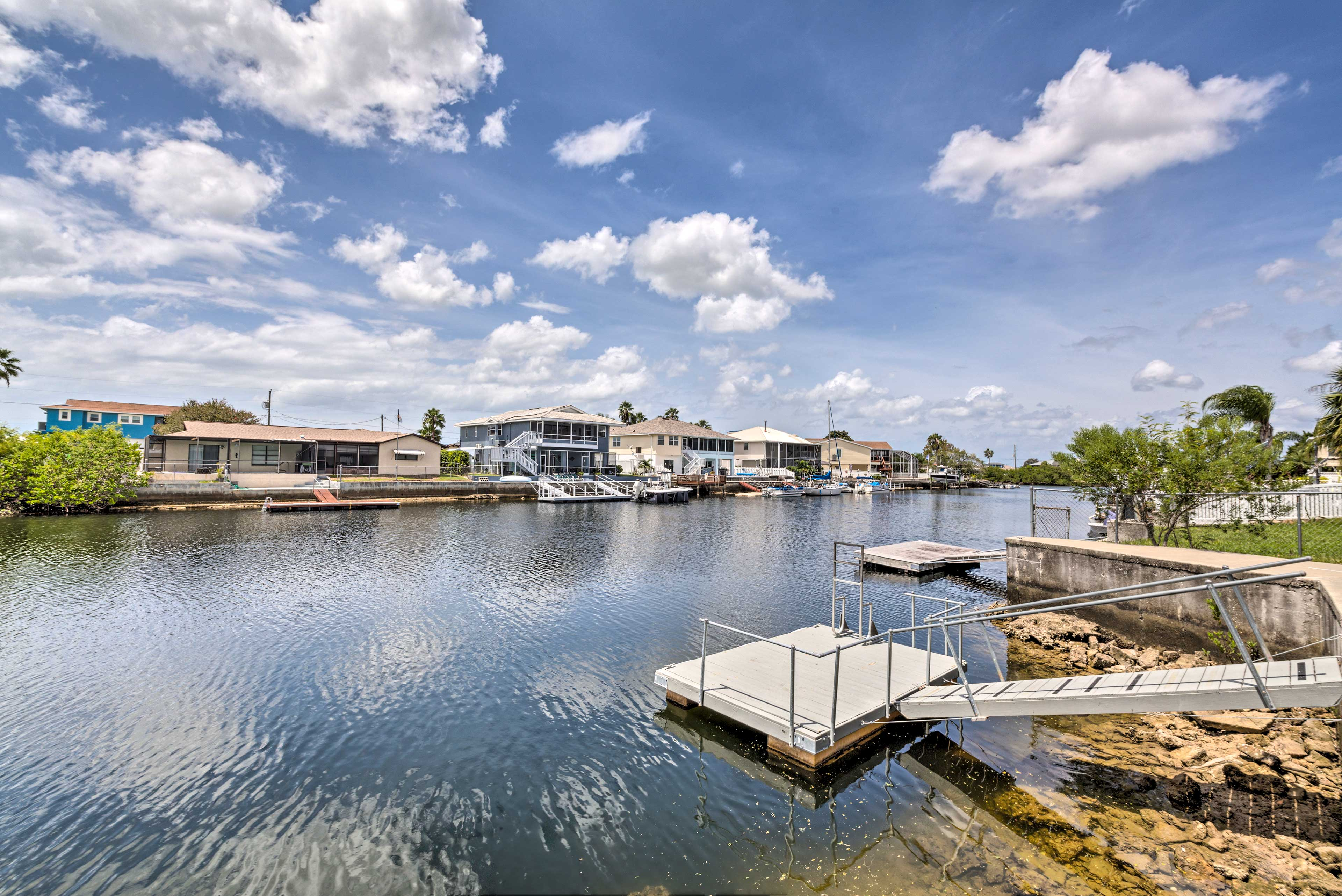 Find your paradise at this waterfront Hernando Beach vacation rental house!