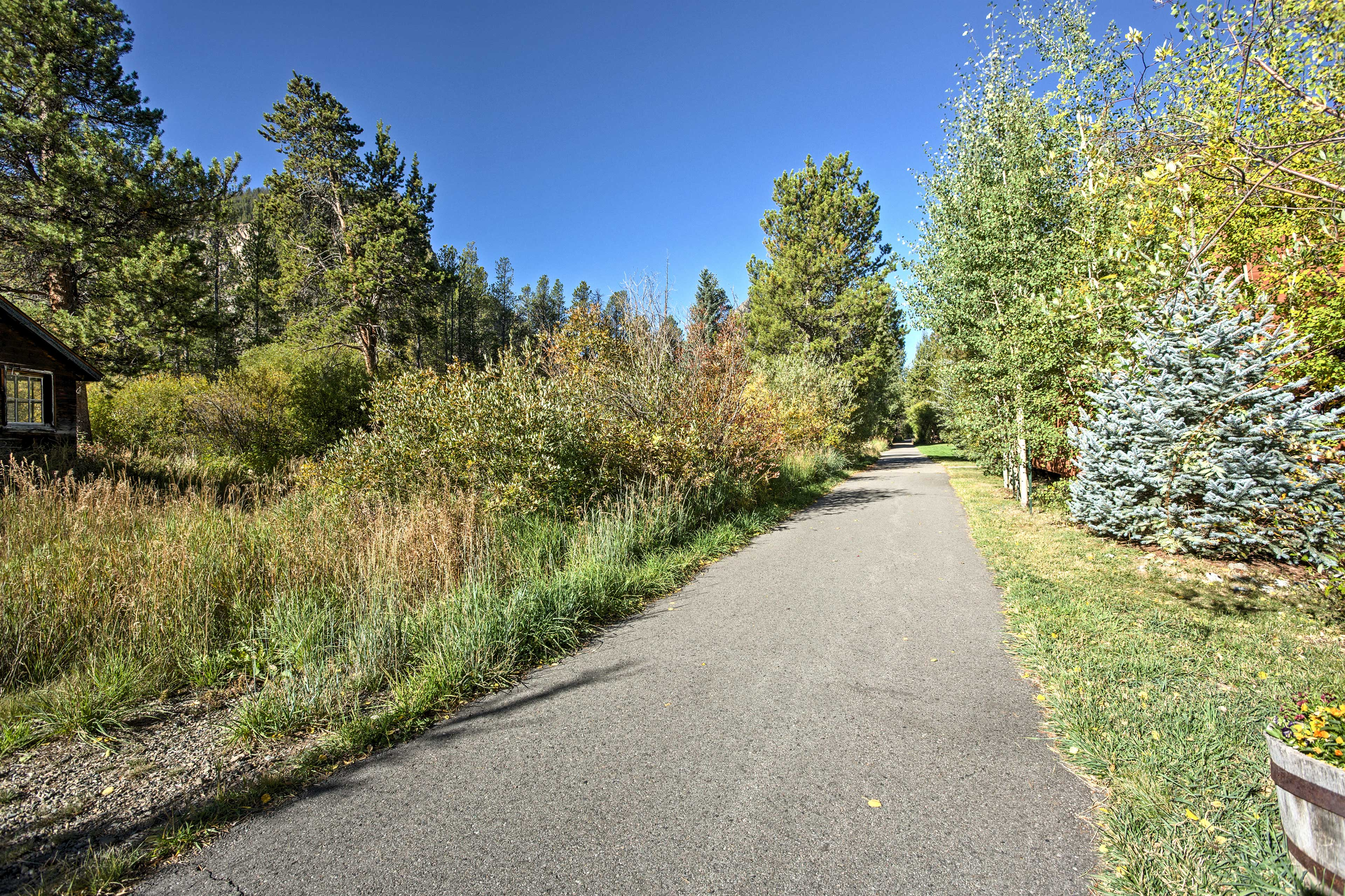 Right behind the home, you'll find the miles-long, car-free Recreational Path!