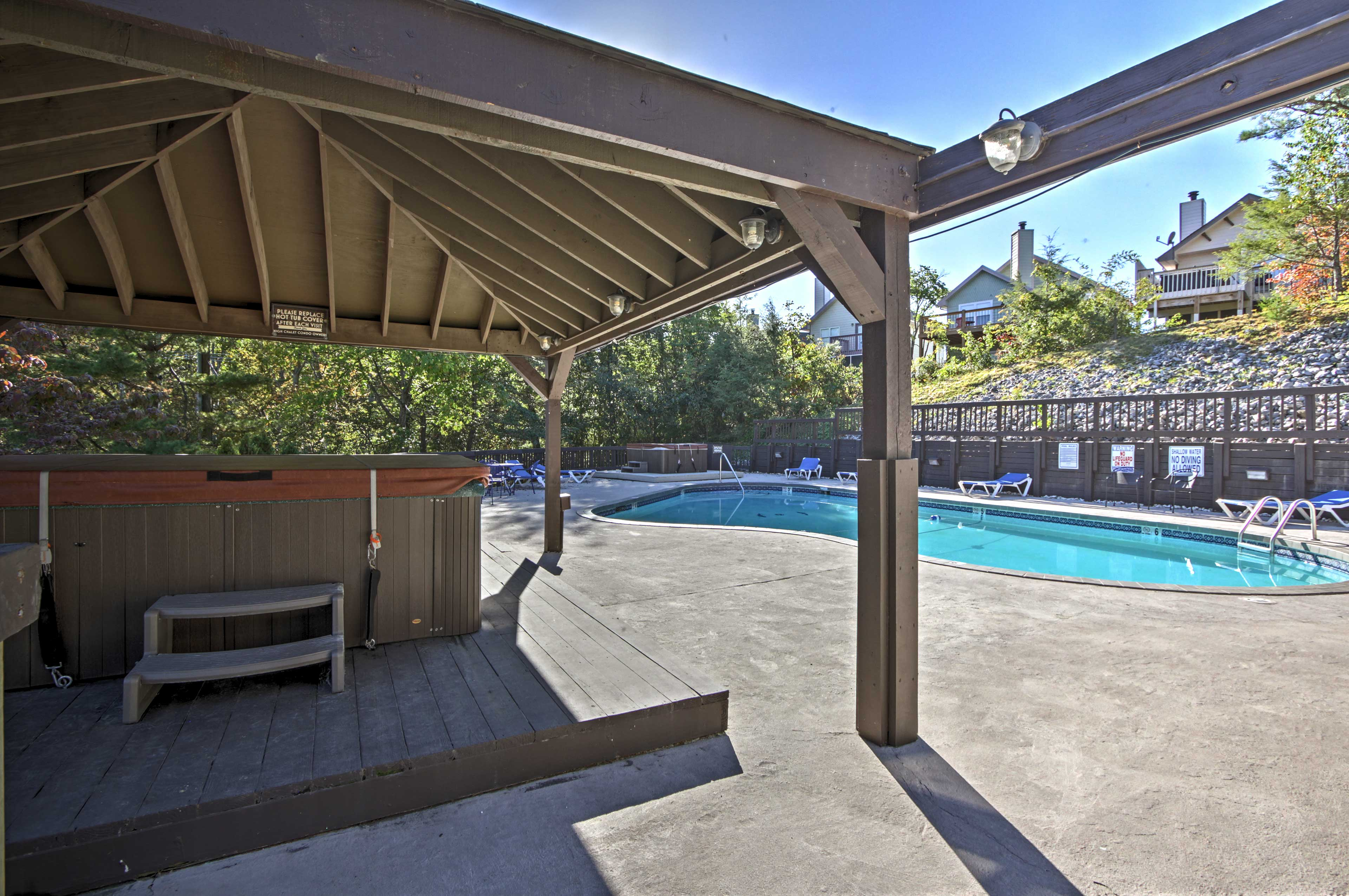Stop by to check out the wonderful community amenities.