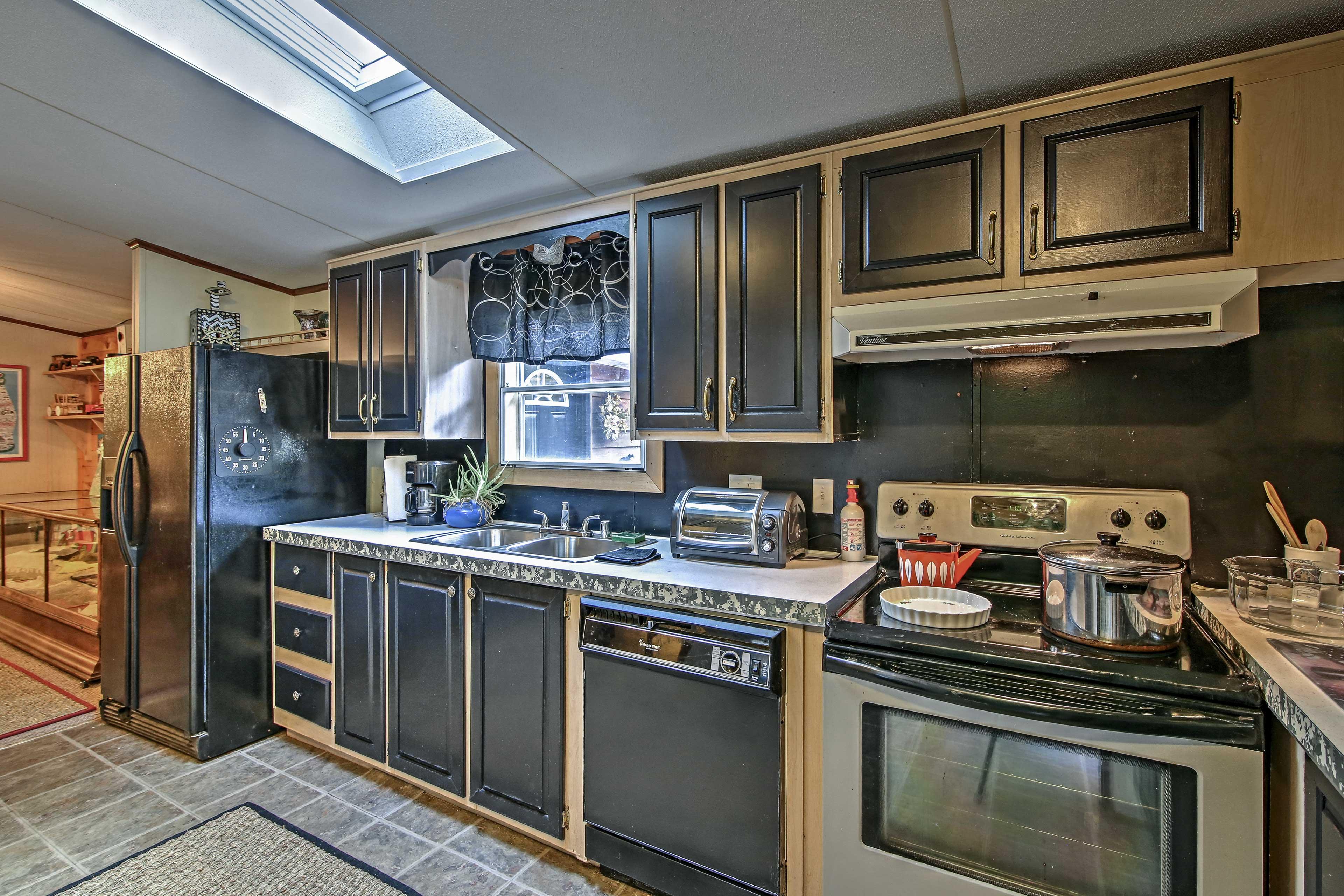 Modern appliances make every recipe a breeze.