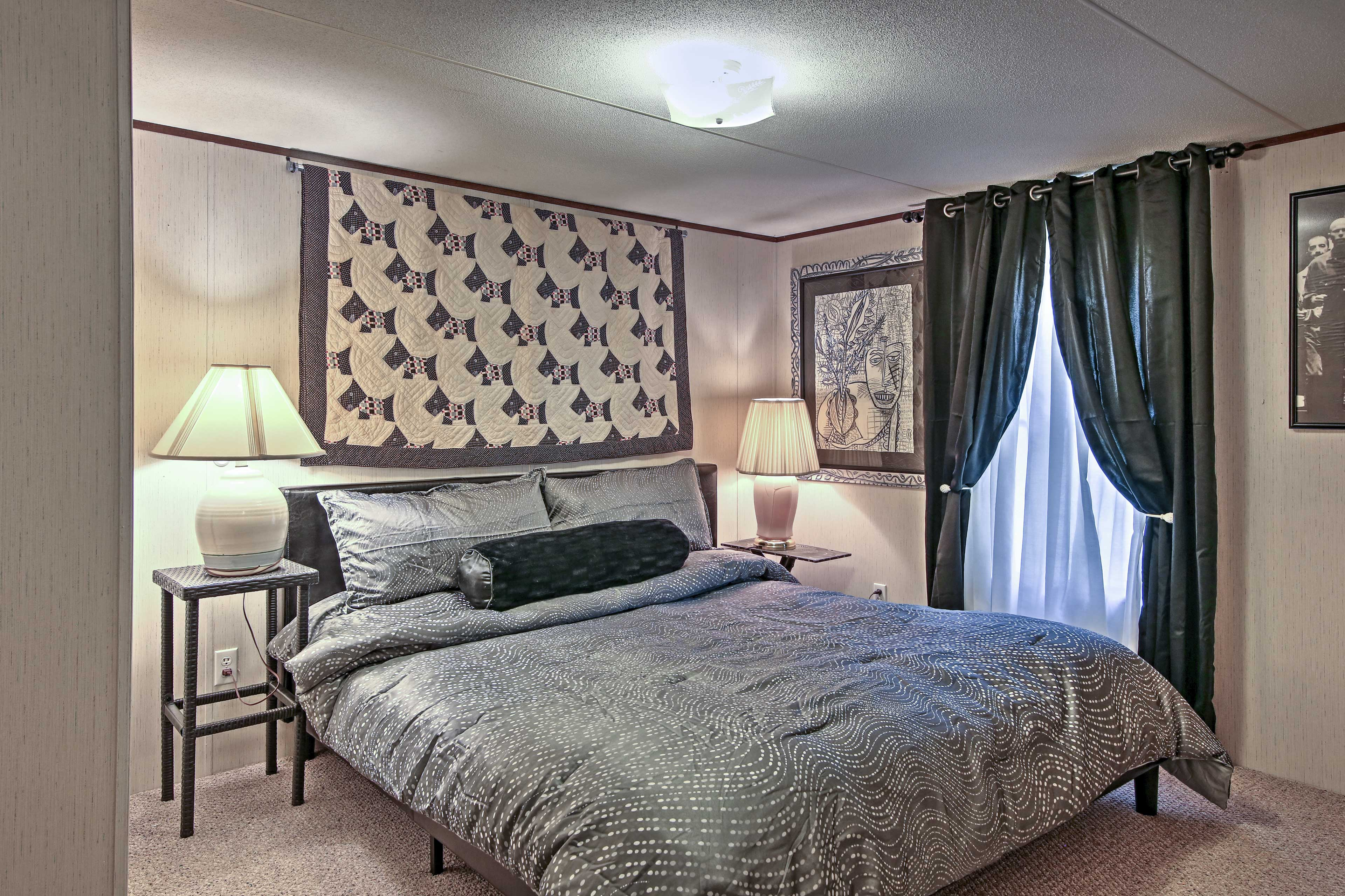 You'll find plush king beds in each bedroom!