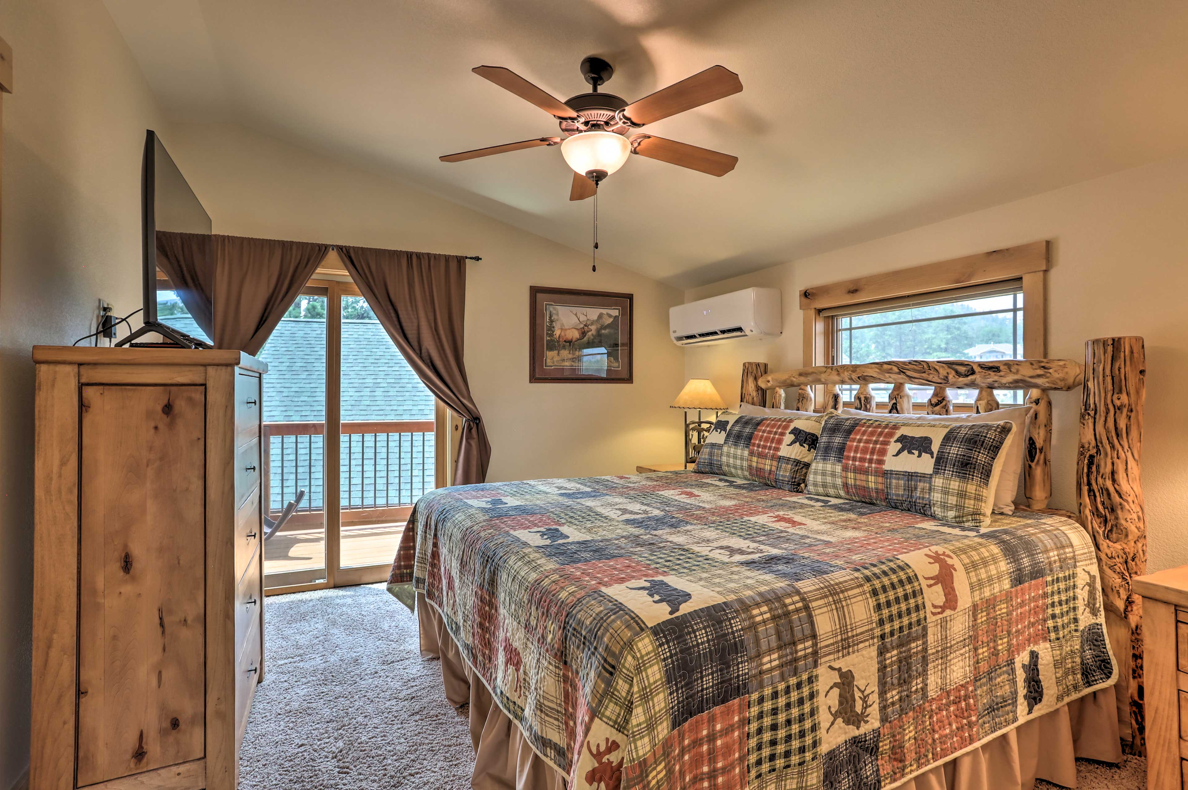 Bedroom 1 | King Bed | Balcony Access