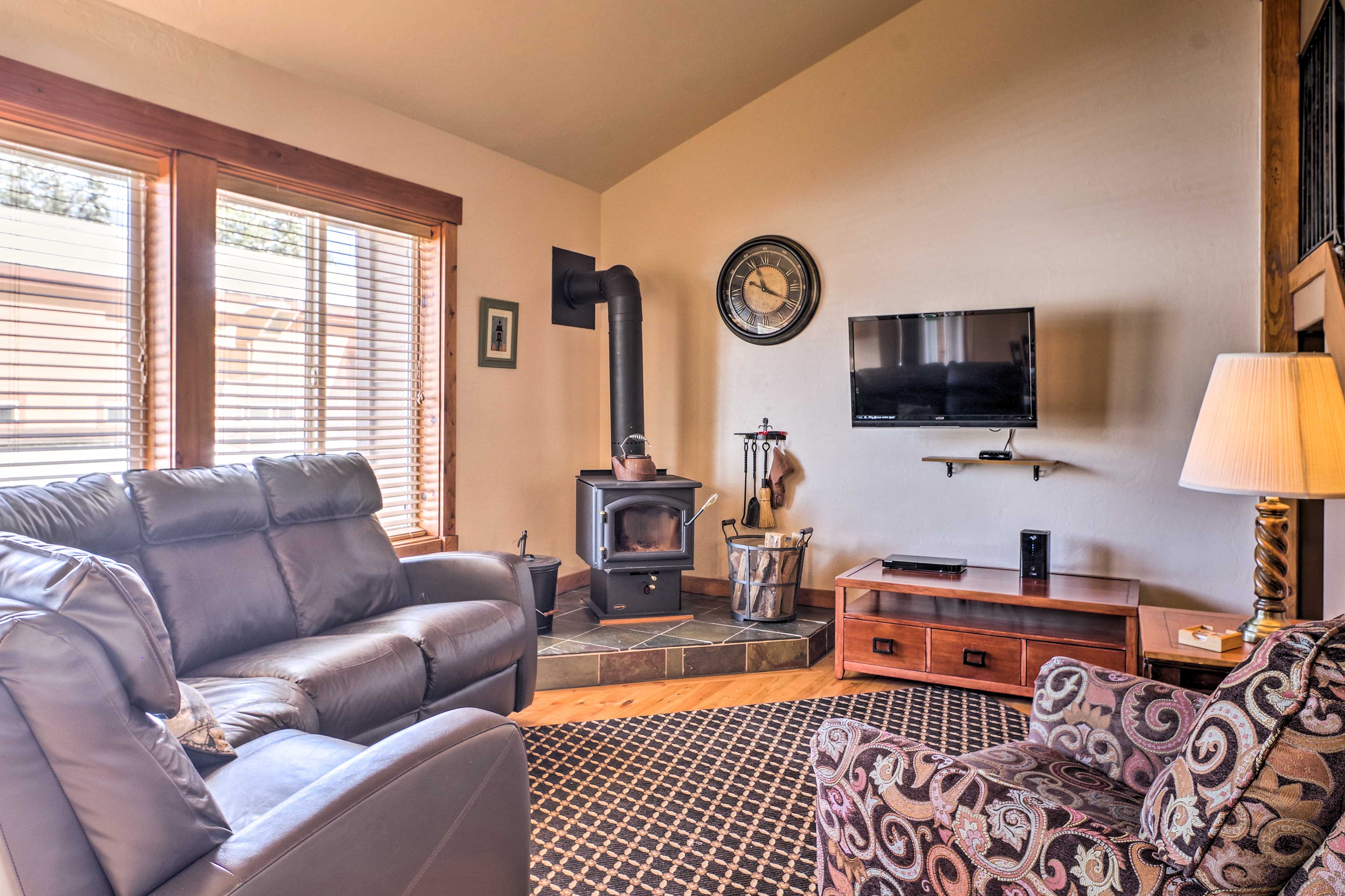 Take a break at this 3-bed, 2-bath vacation rental condo in McCall.