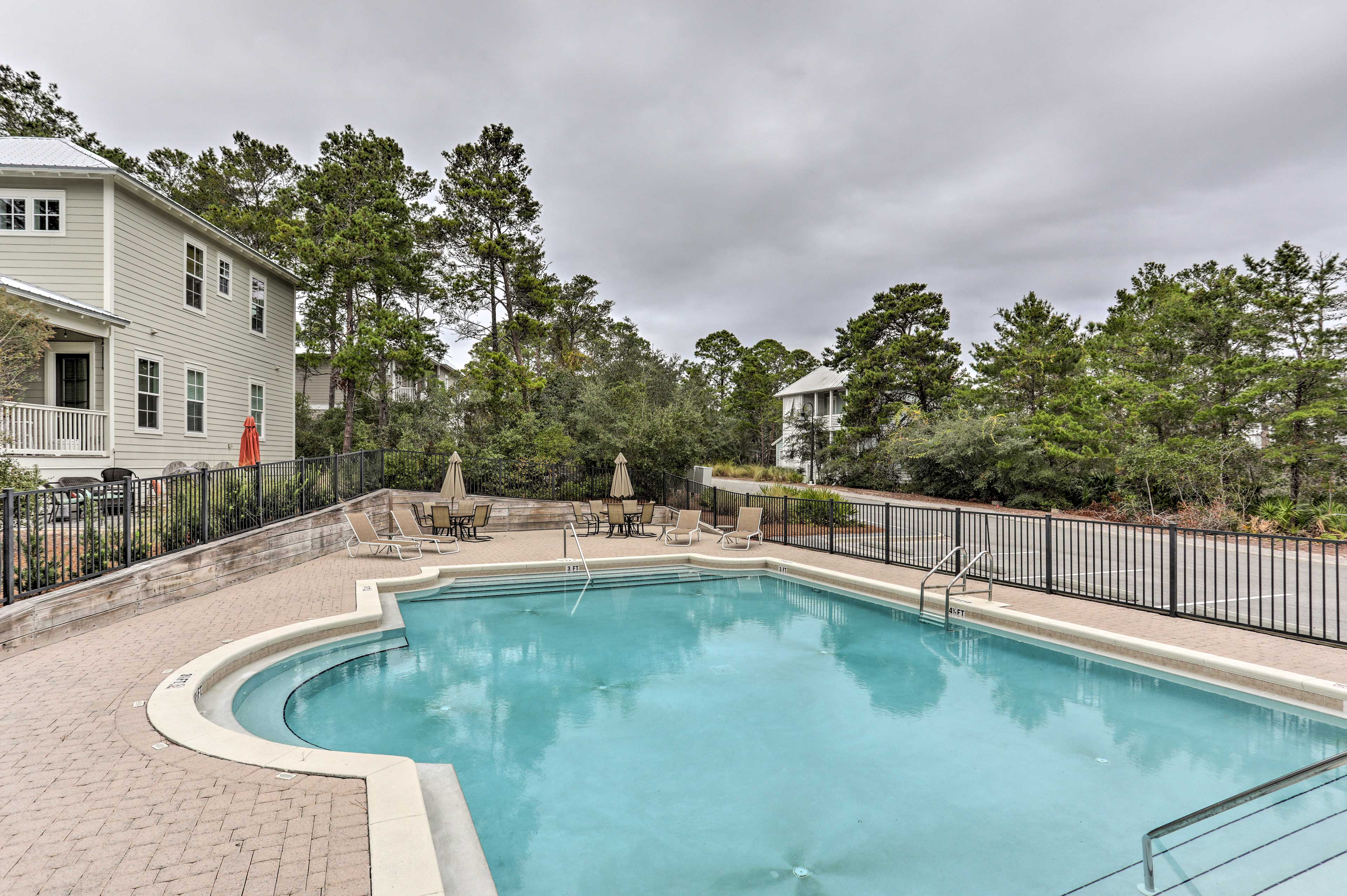 You'll enjoy all the comforts of home, plus access to a community pool.
