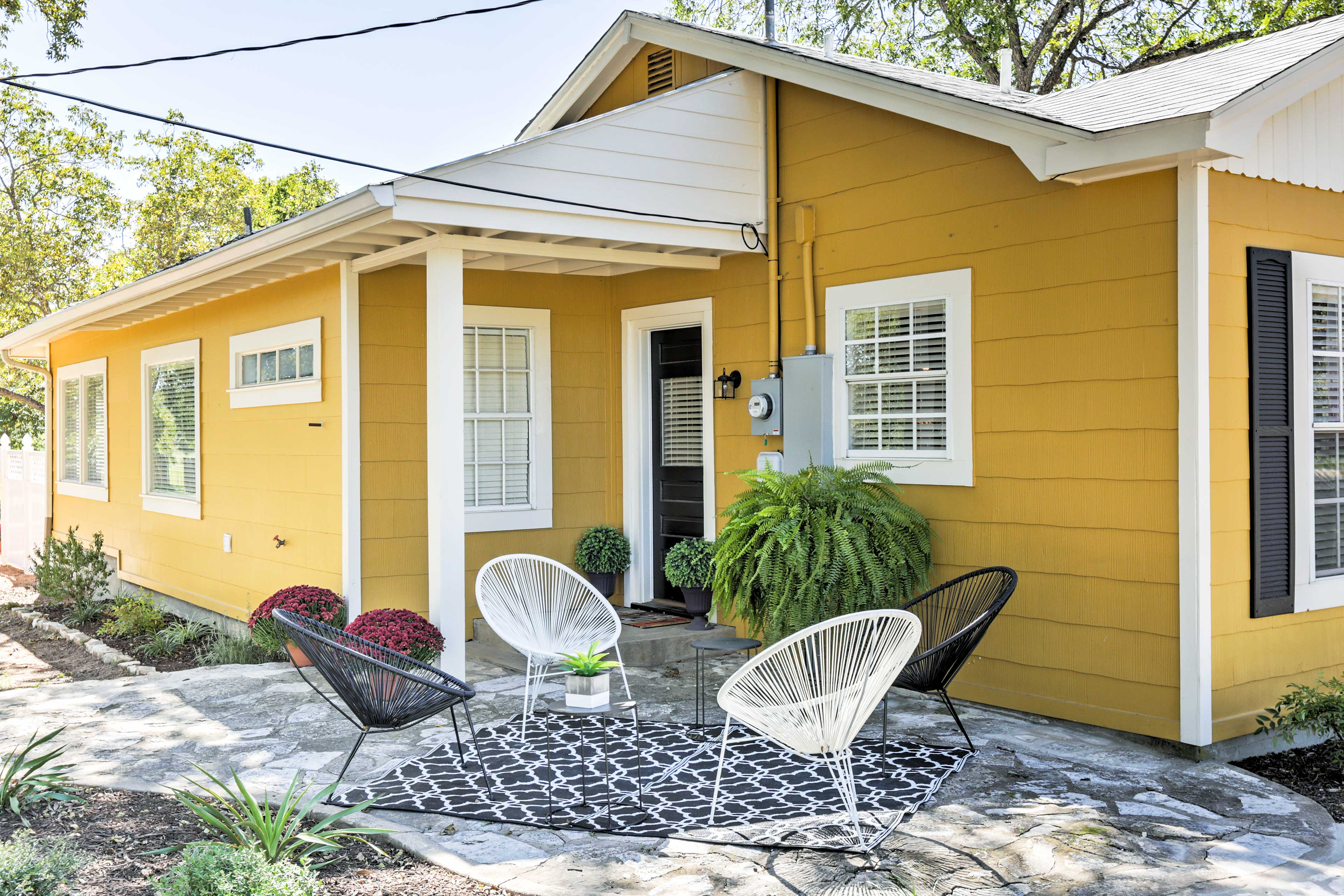 Fun and adventure awaits when you stay at this beautiful home in Fredericksburg.