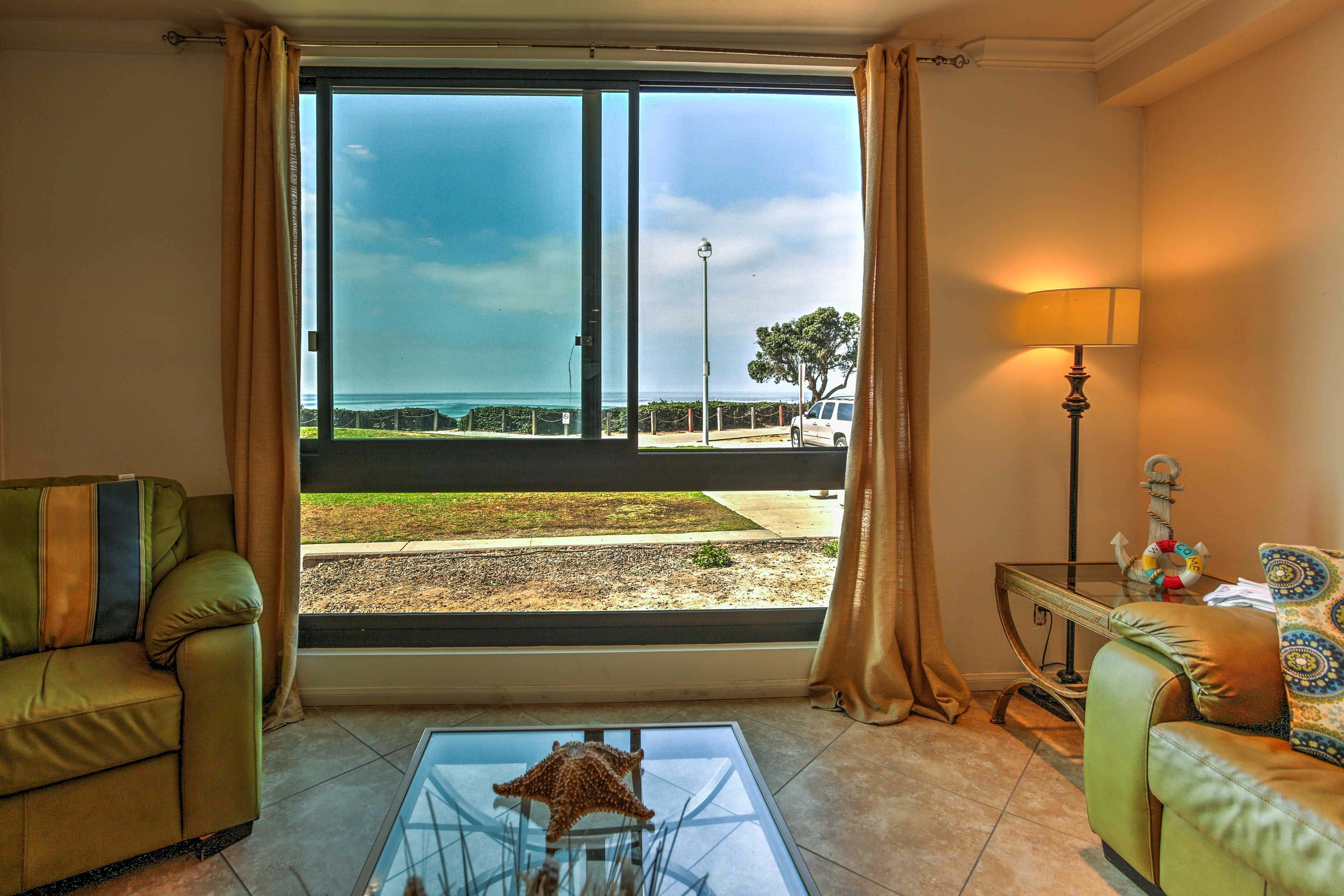 With an open floor plan, this condo ensures you can catch a view throughout!