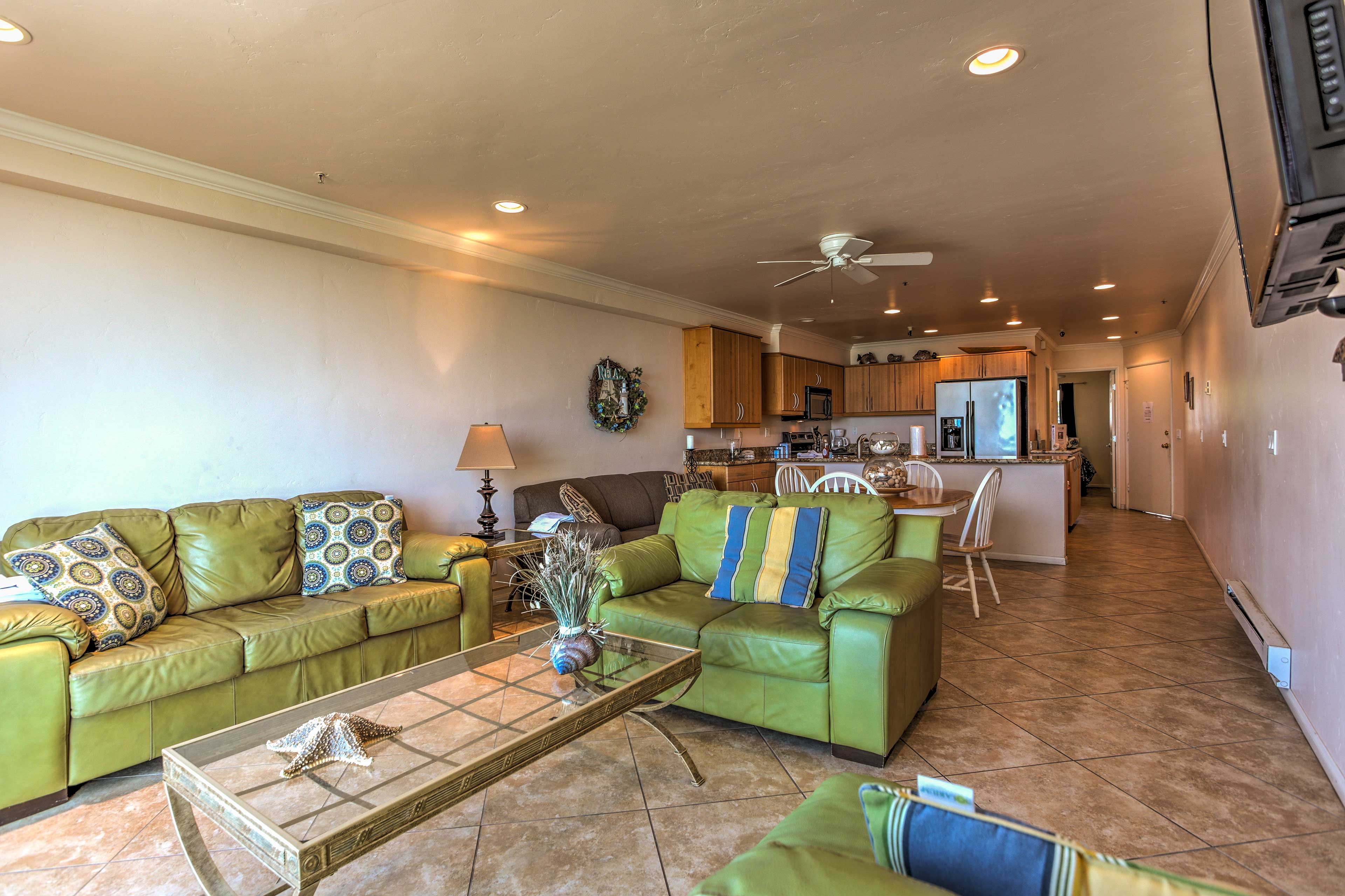 Make yourself at home in this welcoming living space.