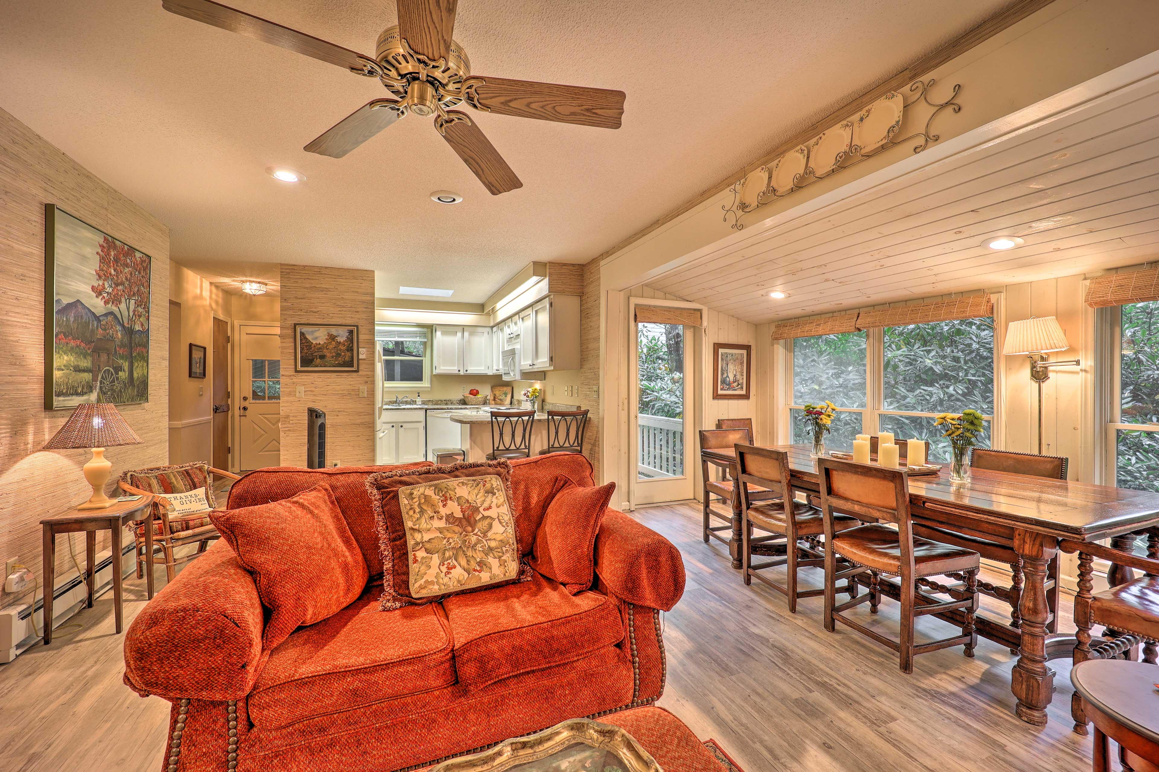 Main-Level Living Room