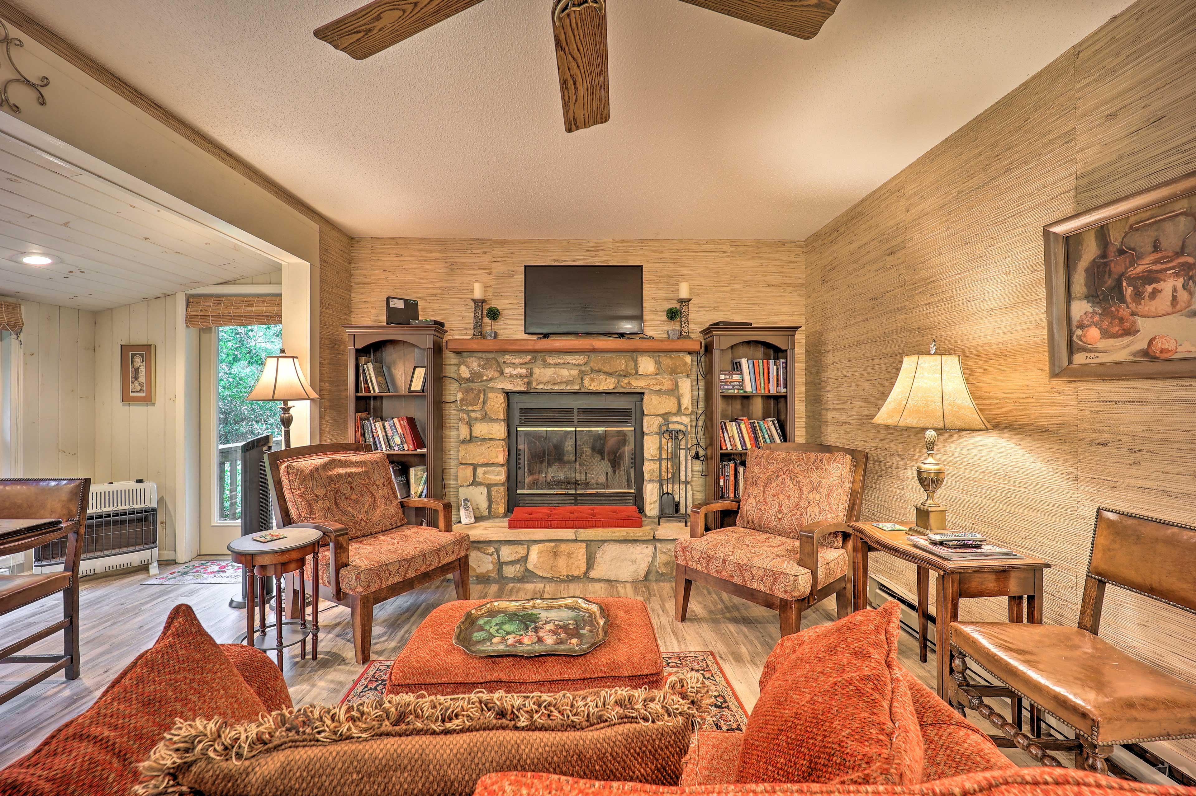 Main-Level Living Room | New Flooring