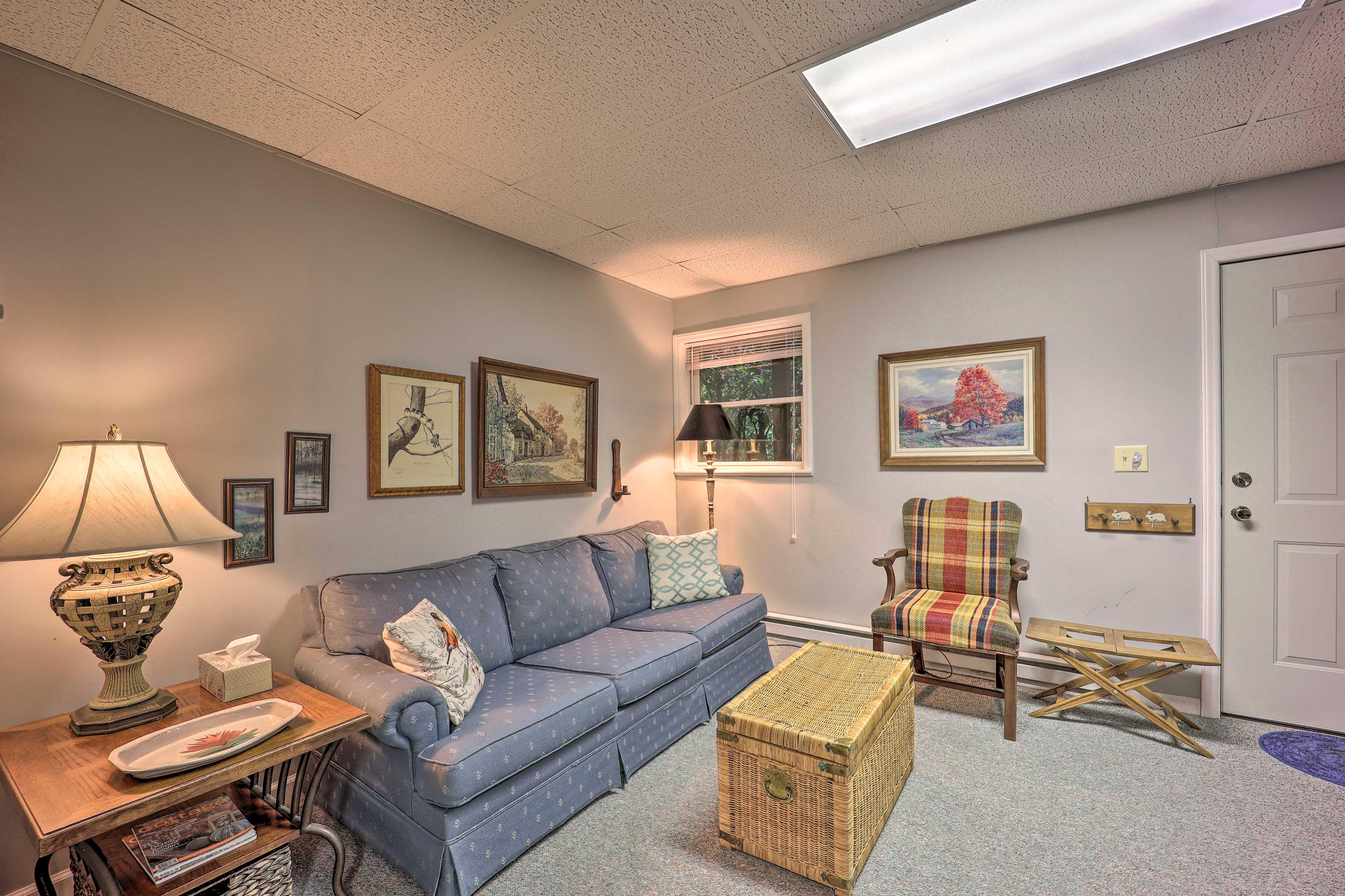 Lower-Level Living Room