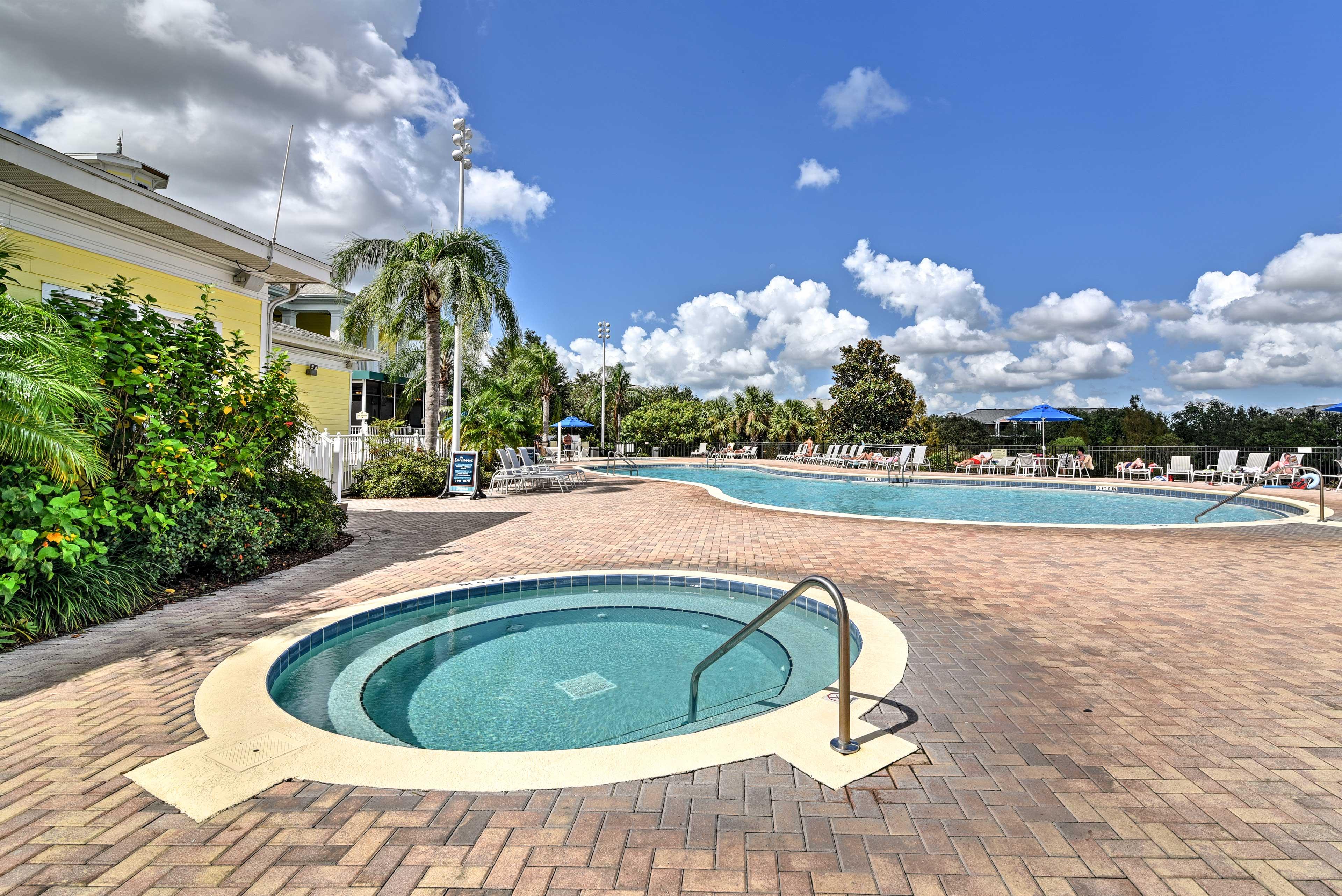 Community Pool & Hot Tub   Tons of Resort Amenities On-Site