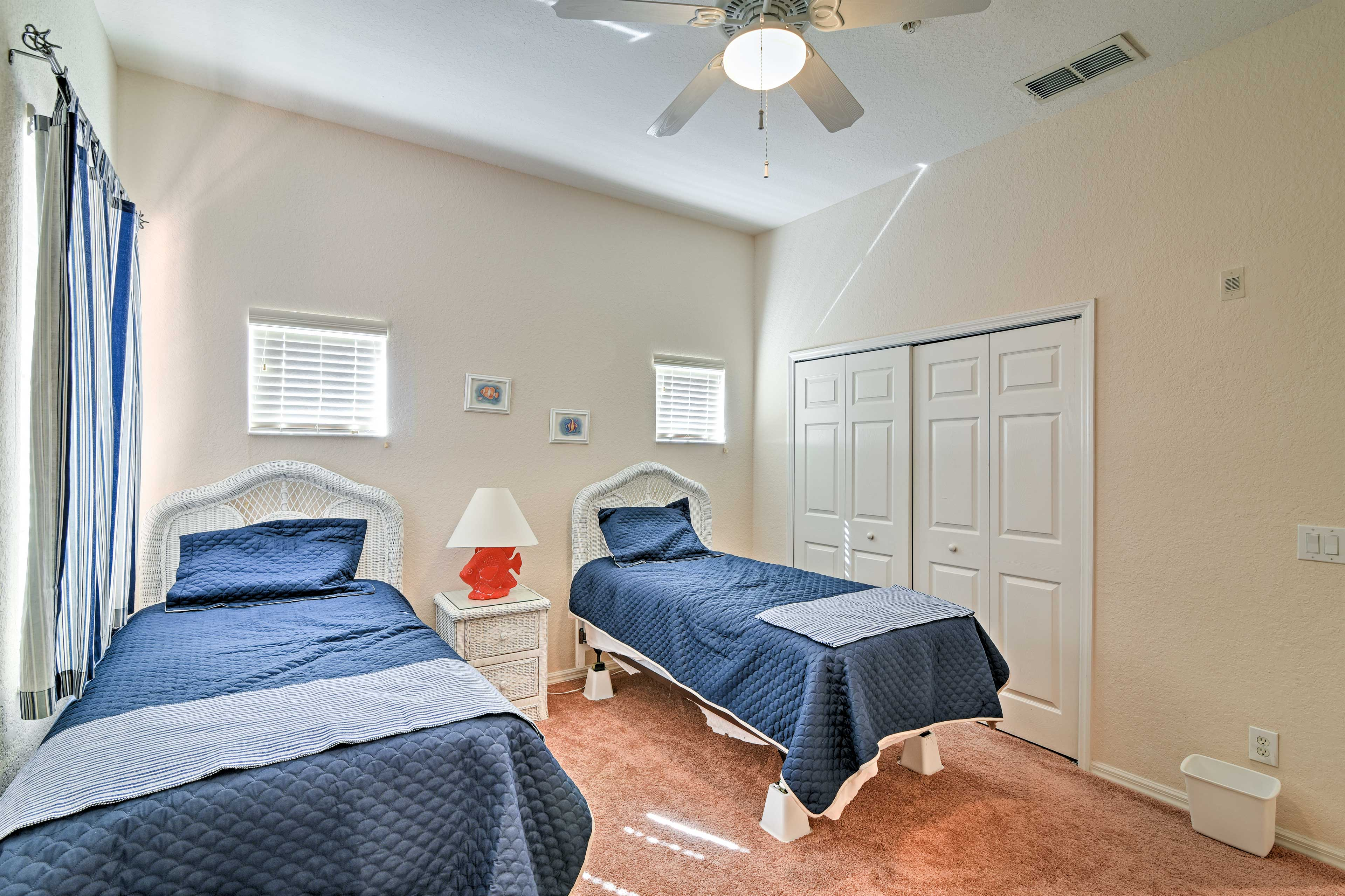 Bedroom 3   2 Twin Beds