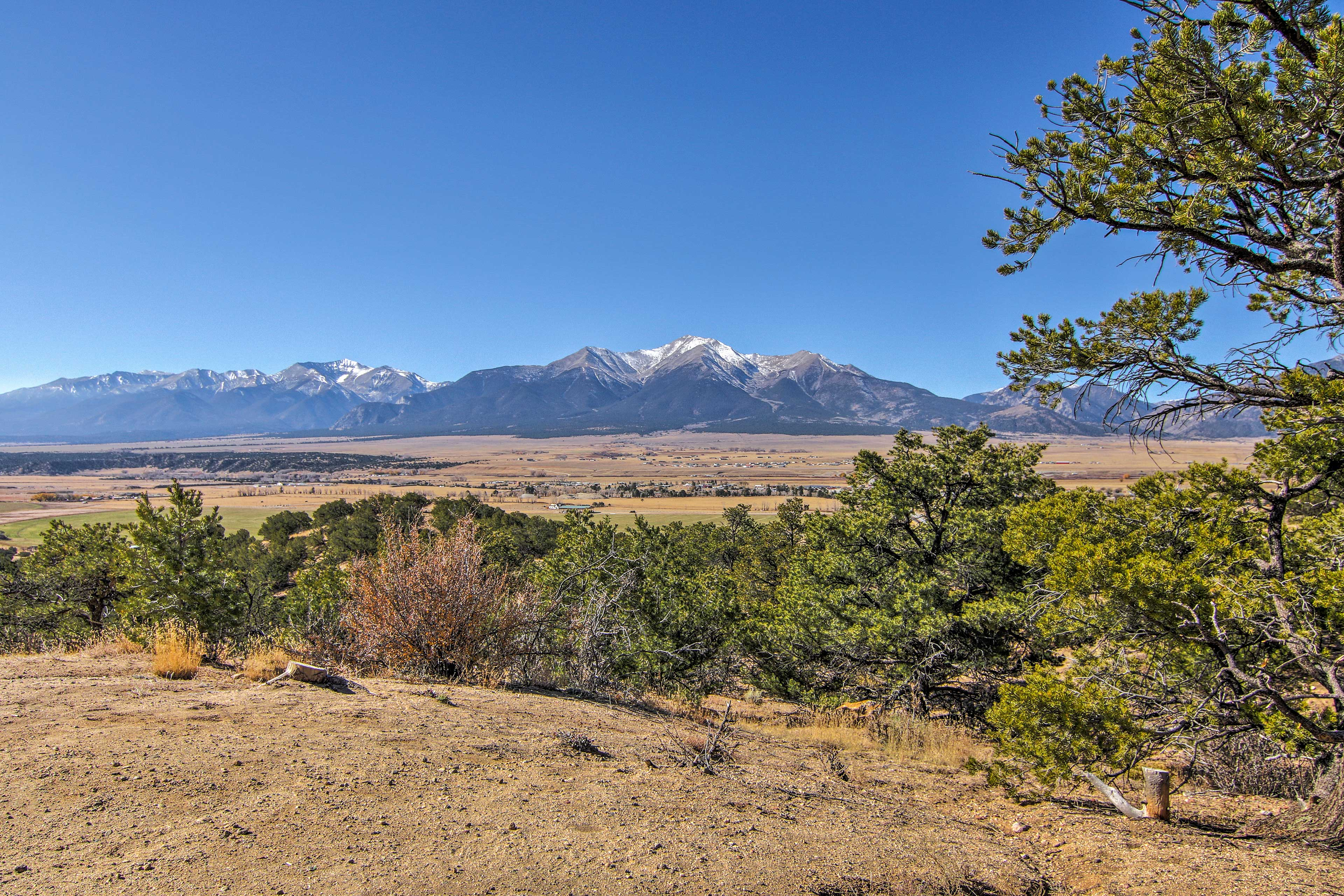 Buena Vista is nestled in the middle of the Rocky Mountains.