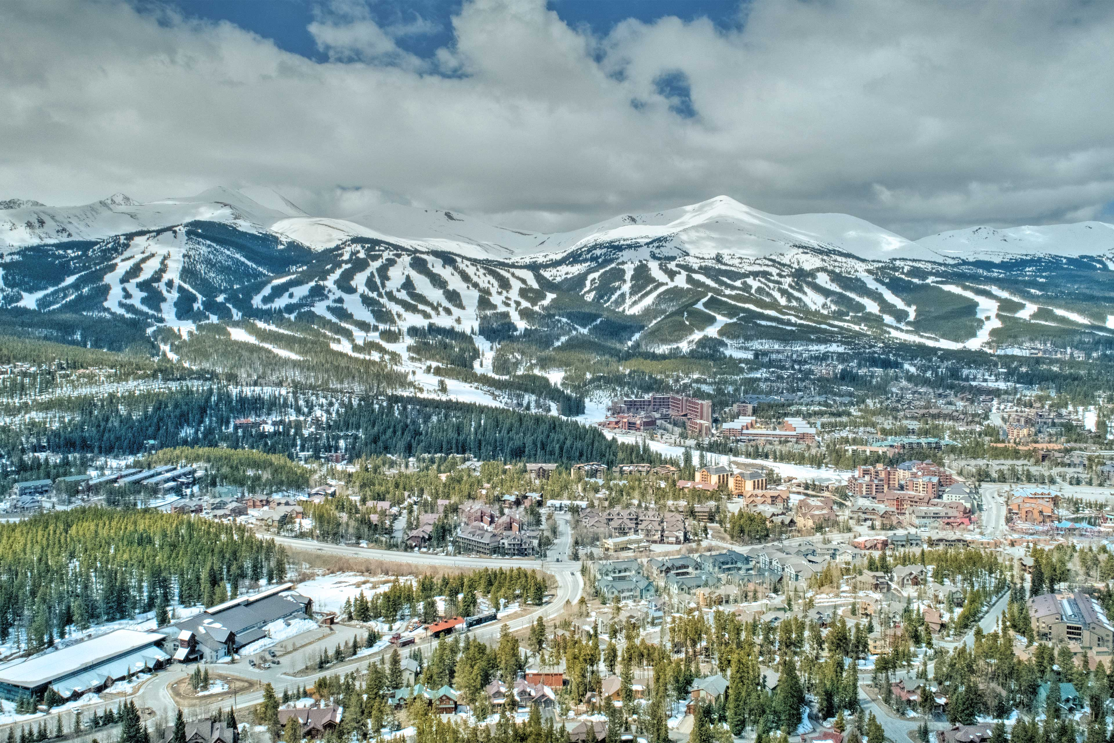 The city of Breckenridge will take your breath away!