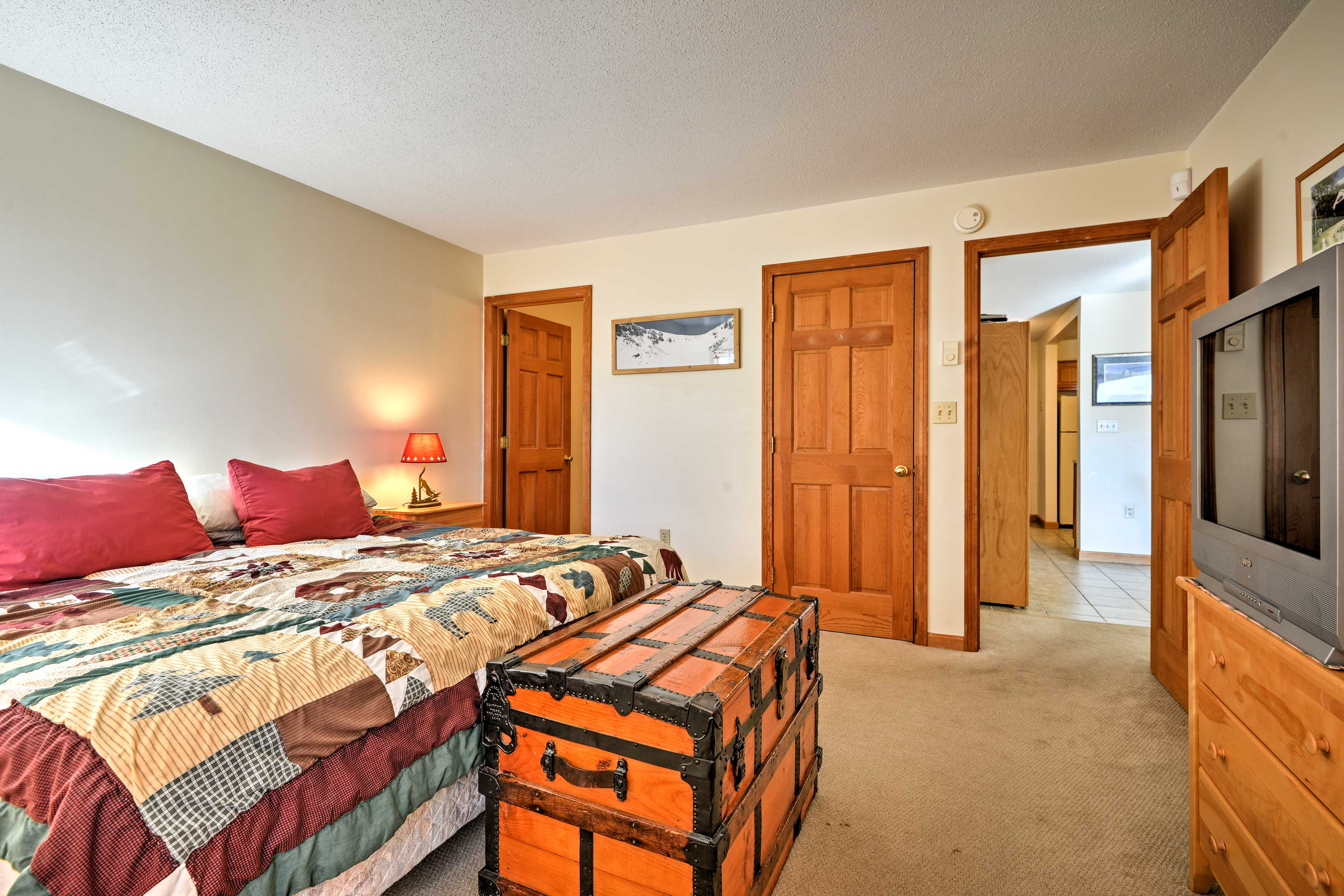 Settle in for the night in one of the 3 spacious bedrooms.