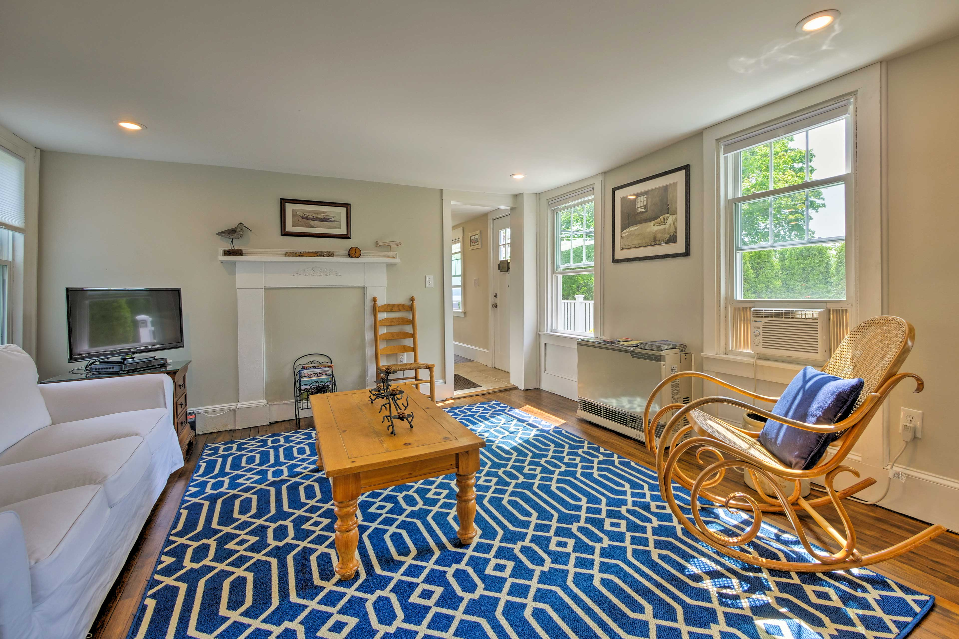 This home maintains a balance of old-world charm and updated amenities.
