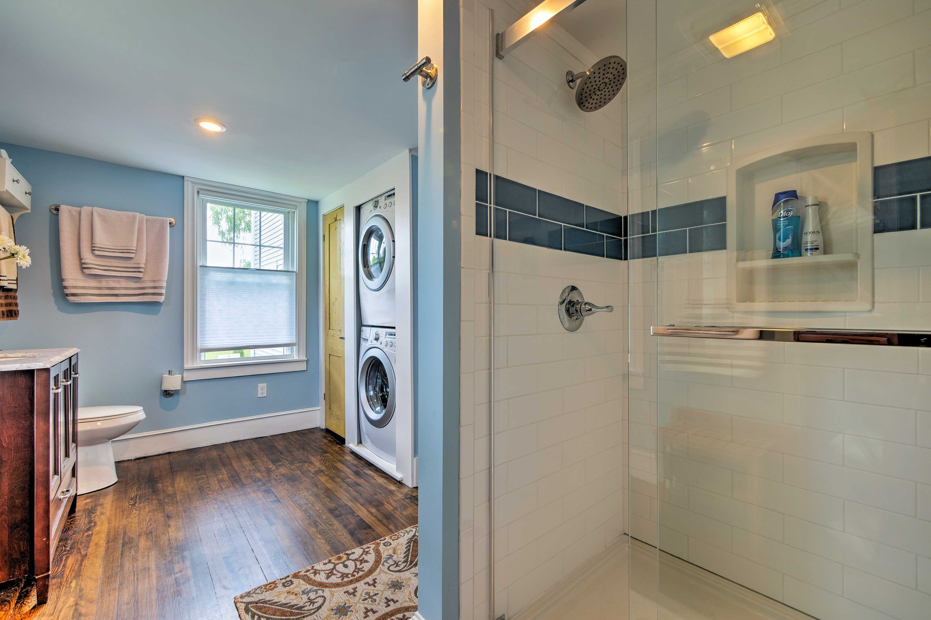 This home offers 2 pristine bathrooms!