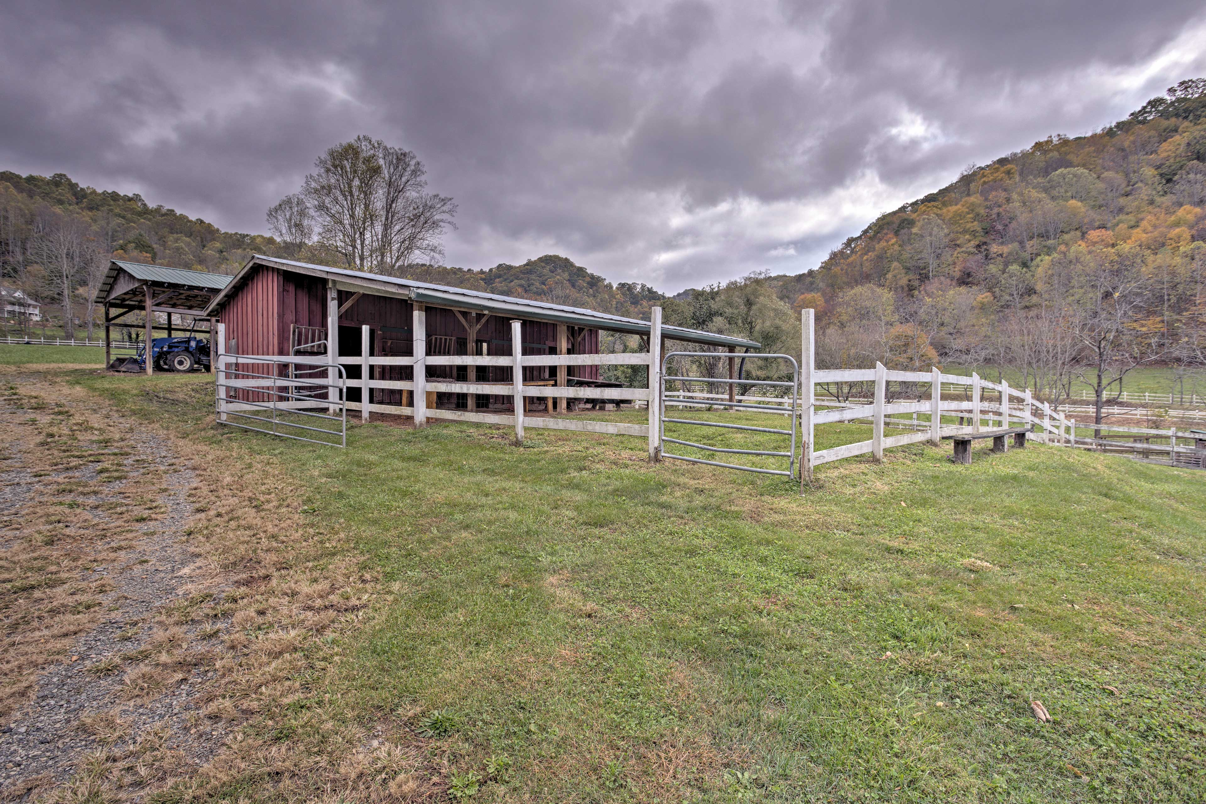 Pay the barn a visit for some alone time.