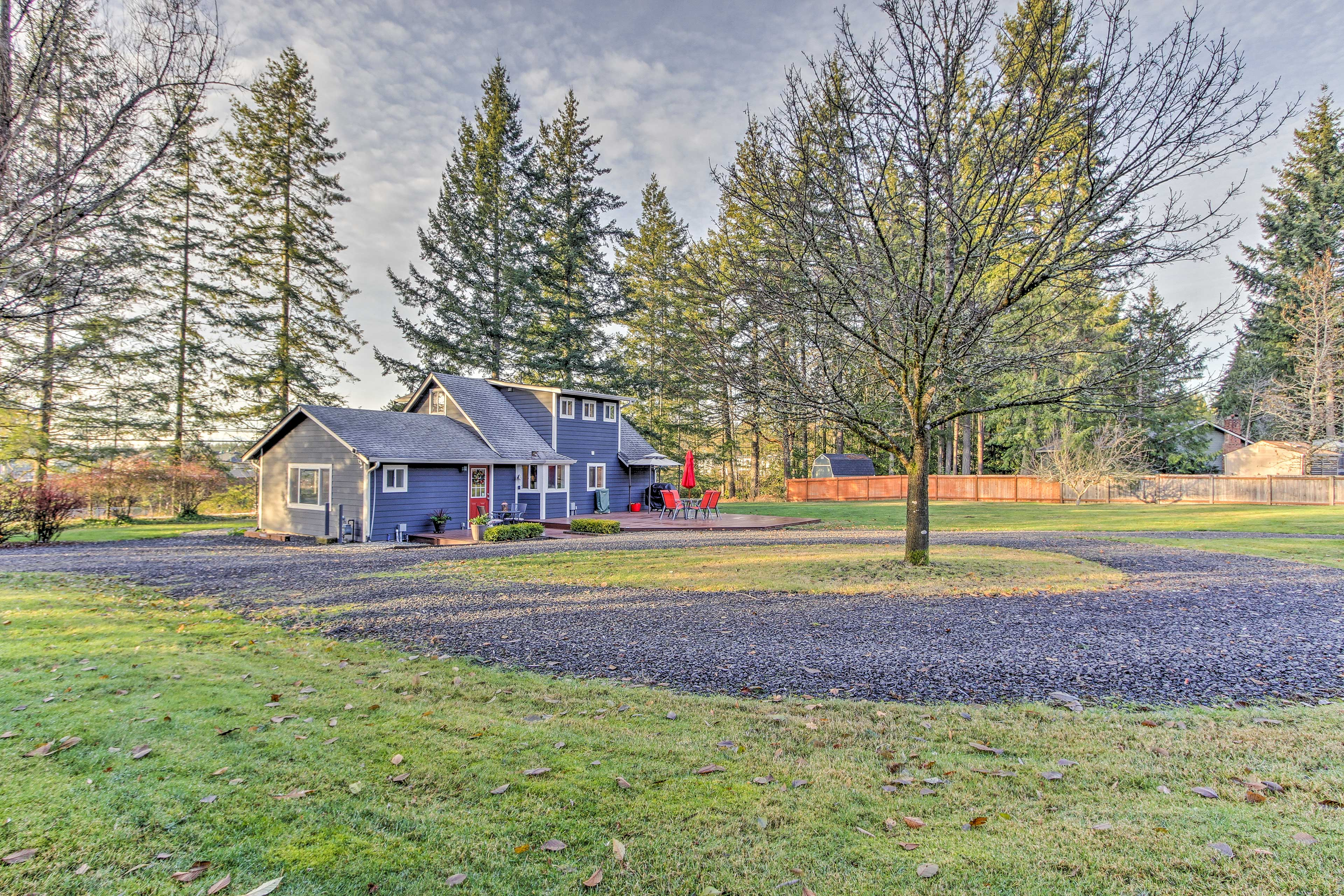 Experience the Pacific Northwest at this vacation rental in Gig Harbor!