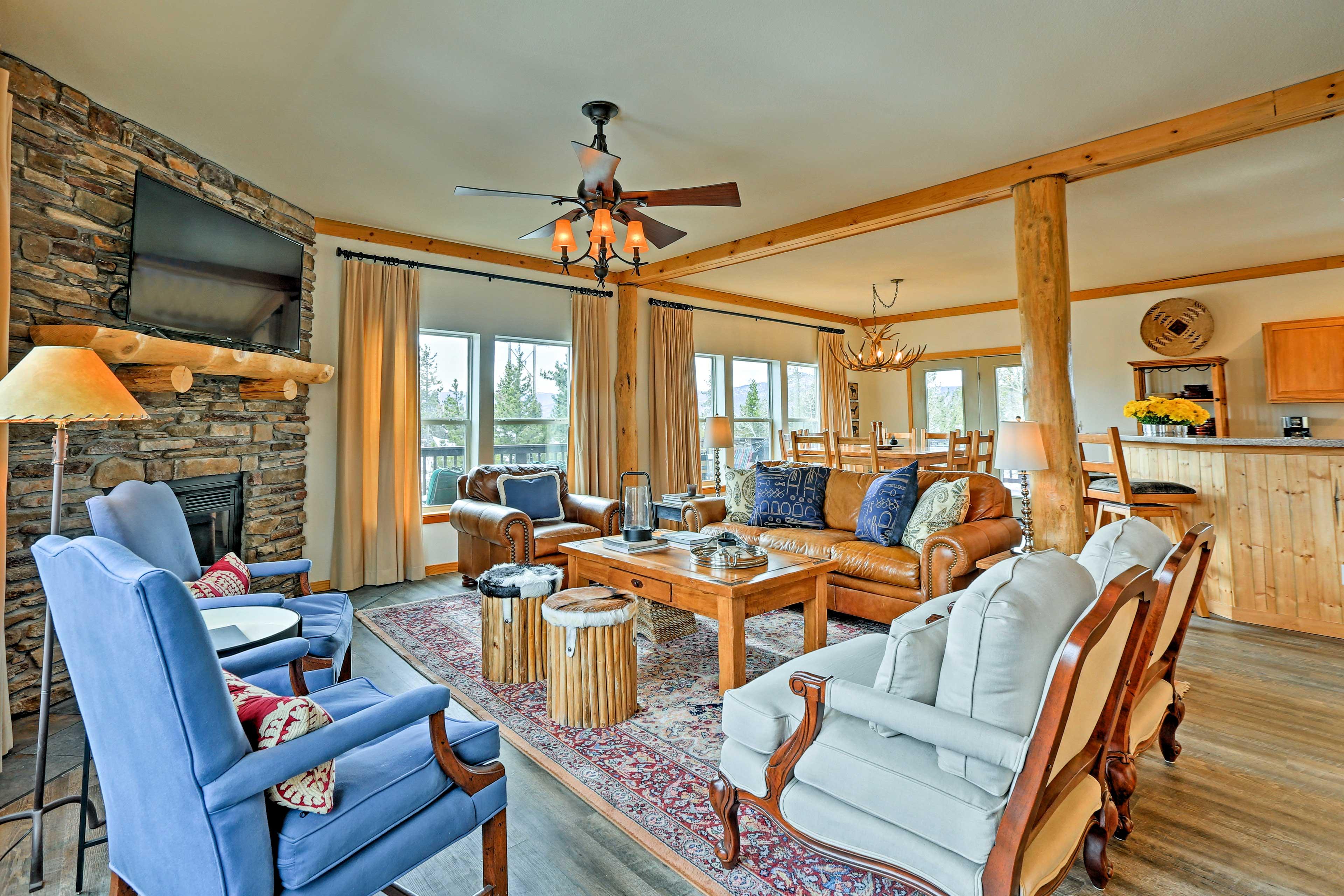 Granby Vacation Rental | 5BR | 3BA | 3,000 Sq Ft | 2 Stories