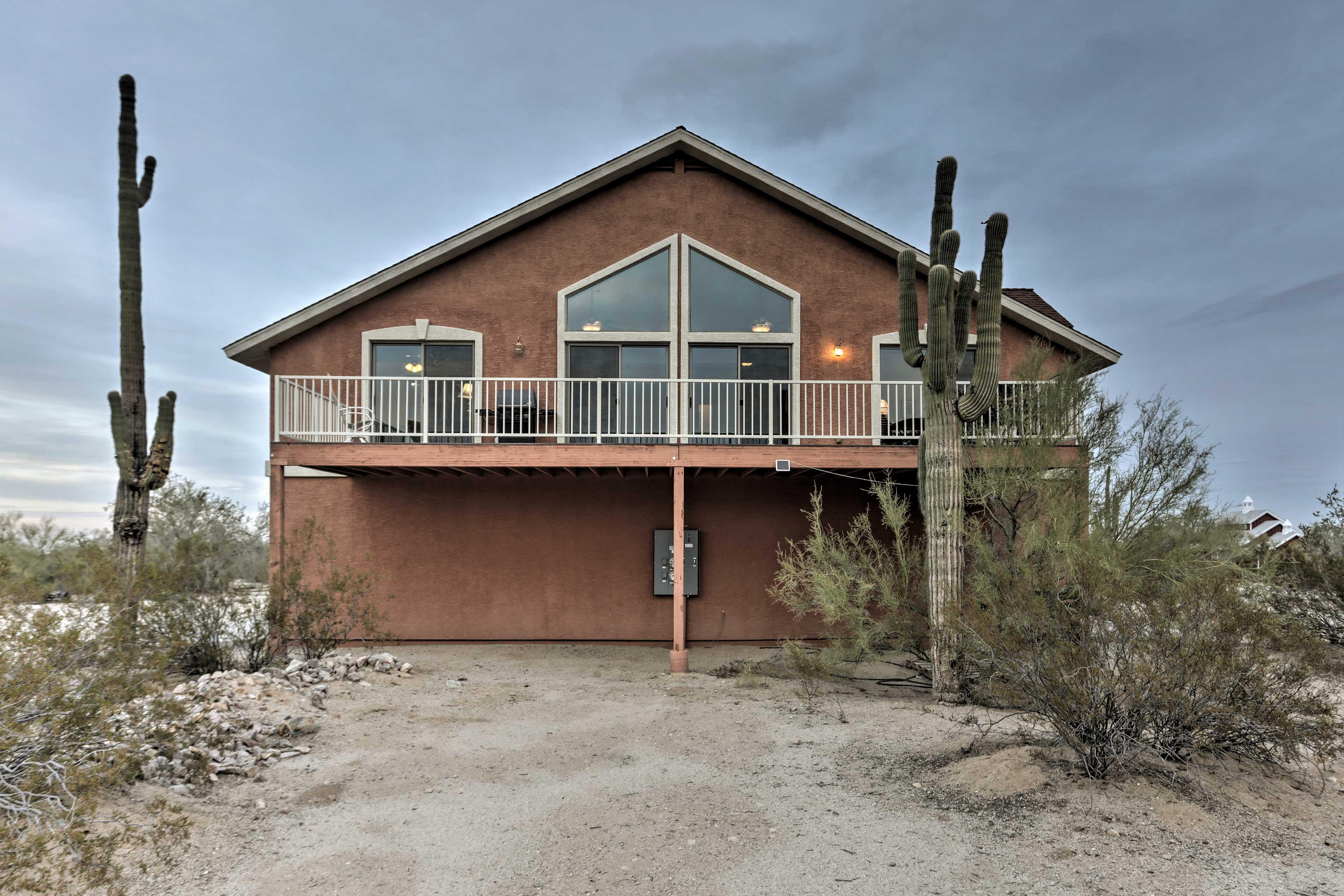 Essential amenities make you feel at home in Arizona's Sonoran Desert.