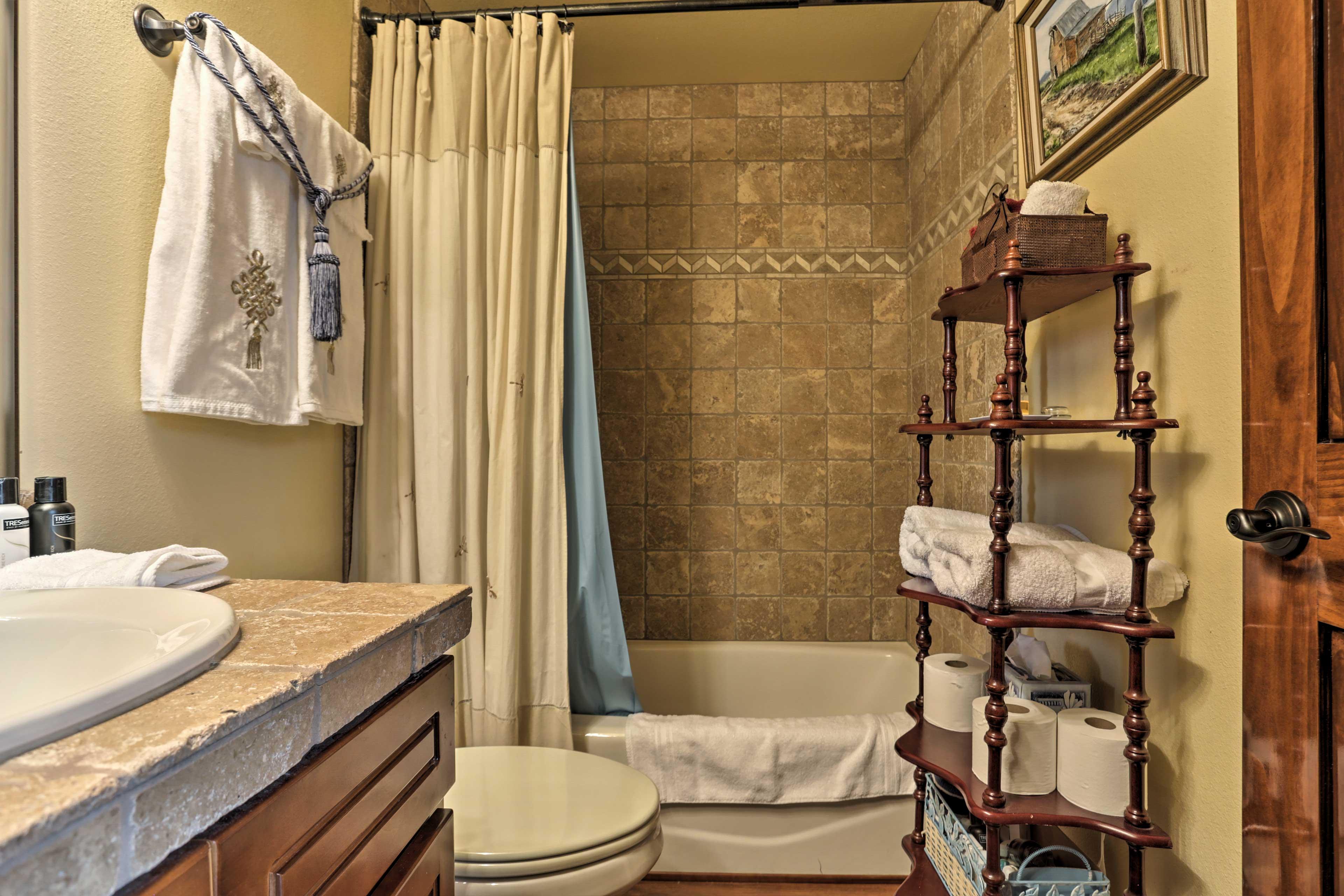 Not feeling like a shower? Draw yourself a hot bubble bath.