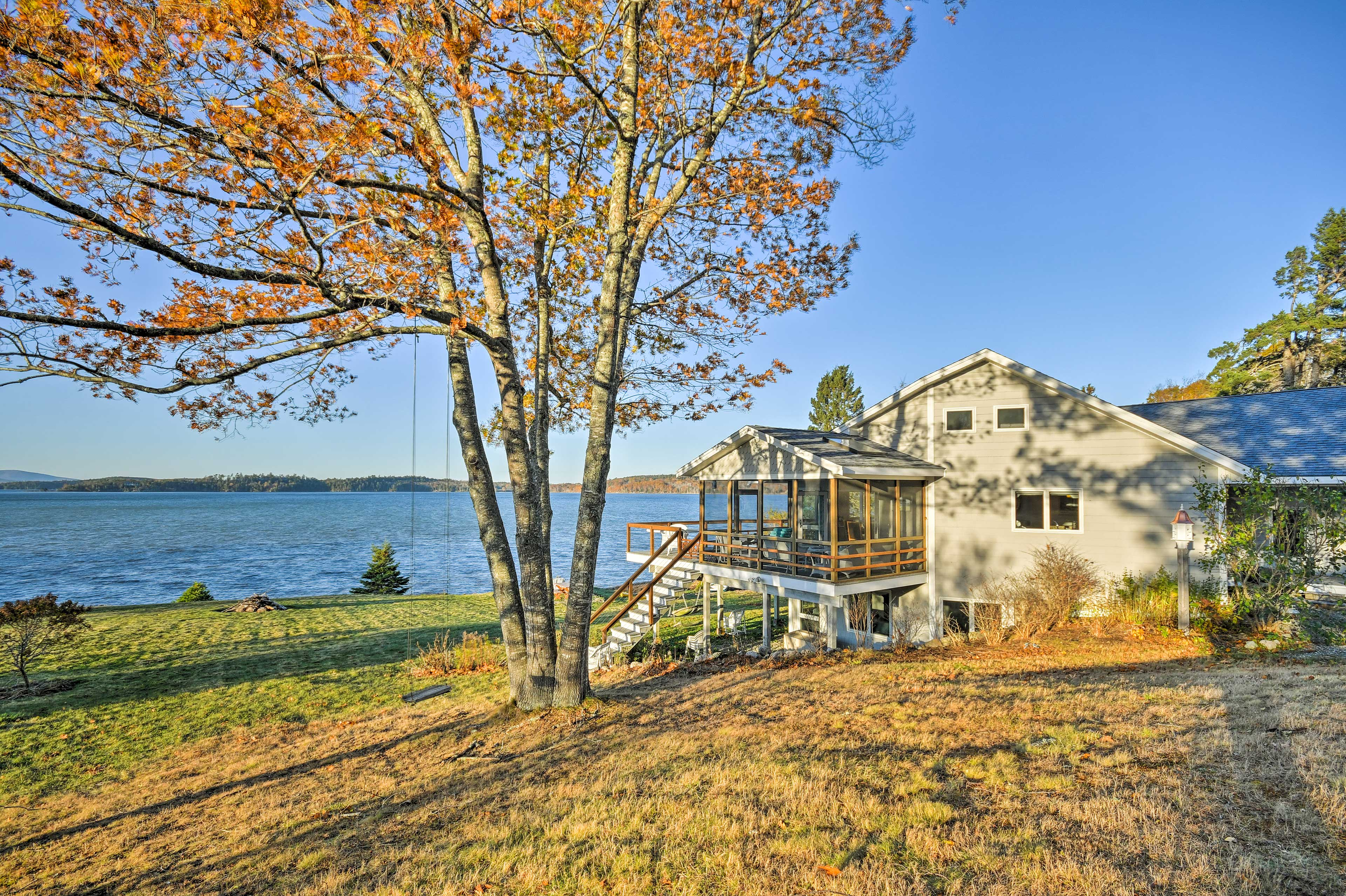 Enjoy an oceanfront escape at this vacation rental house on the Sullivan Coast!