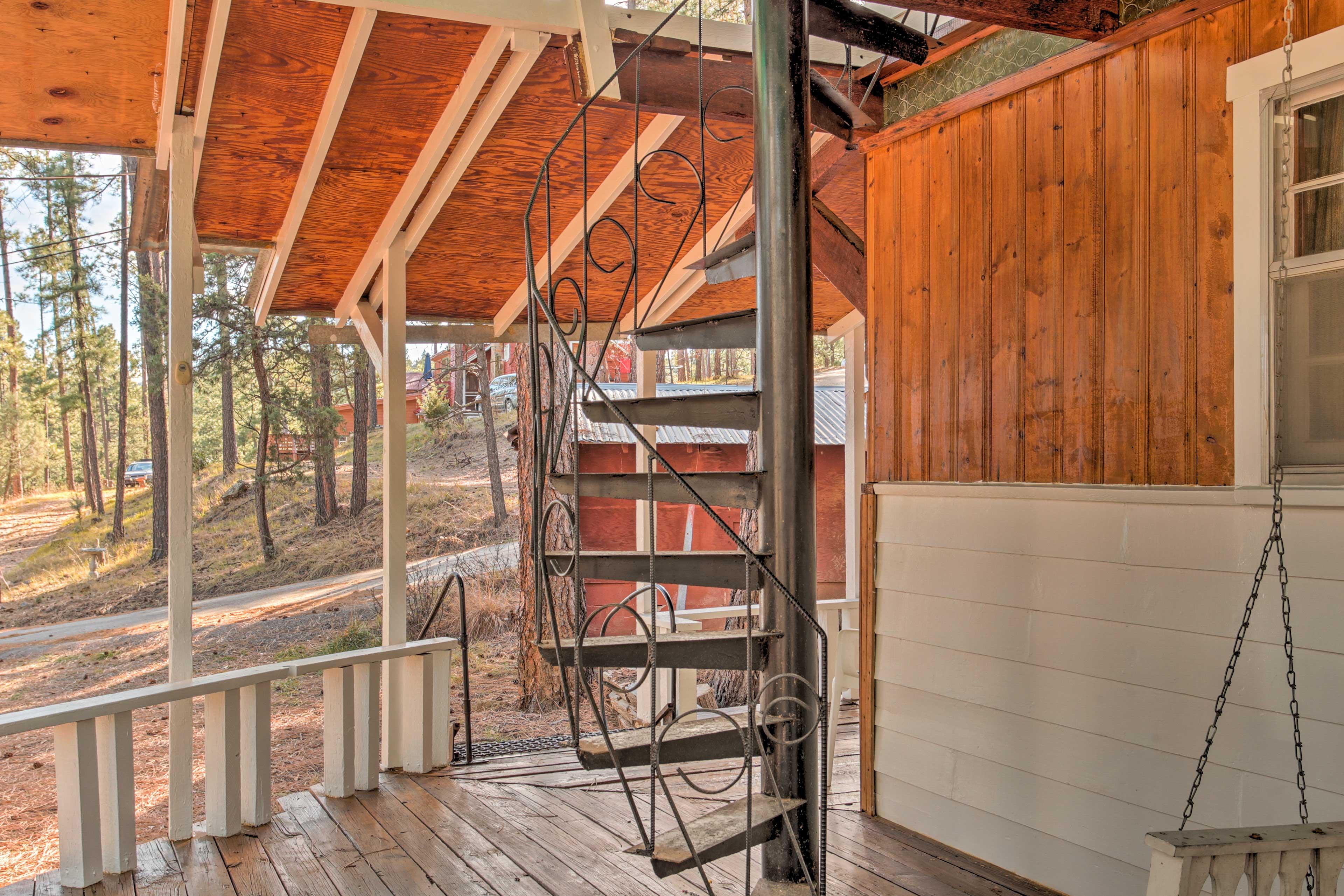 Porch | Spiral Staircase