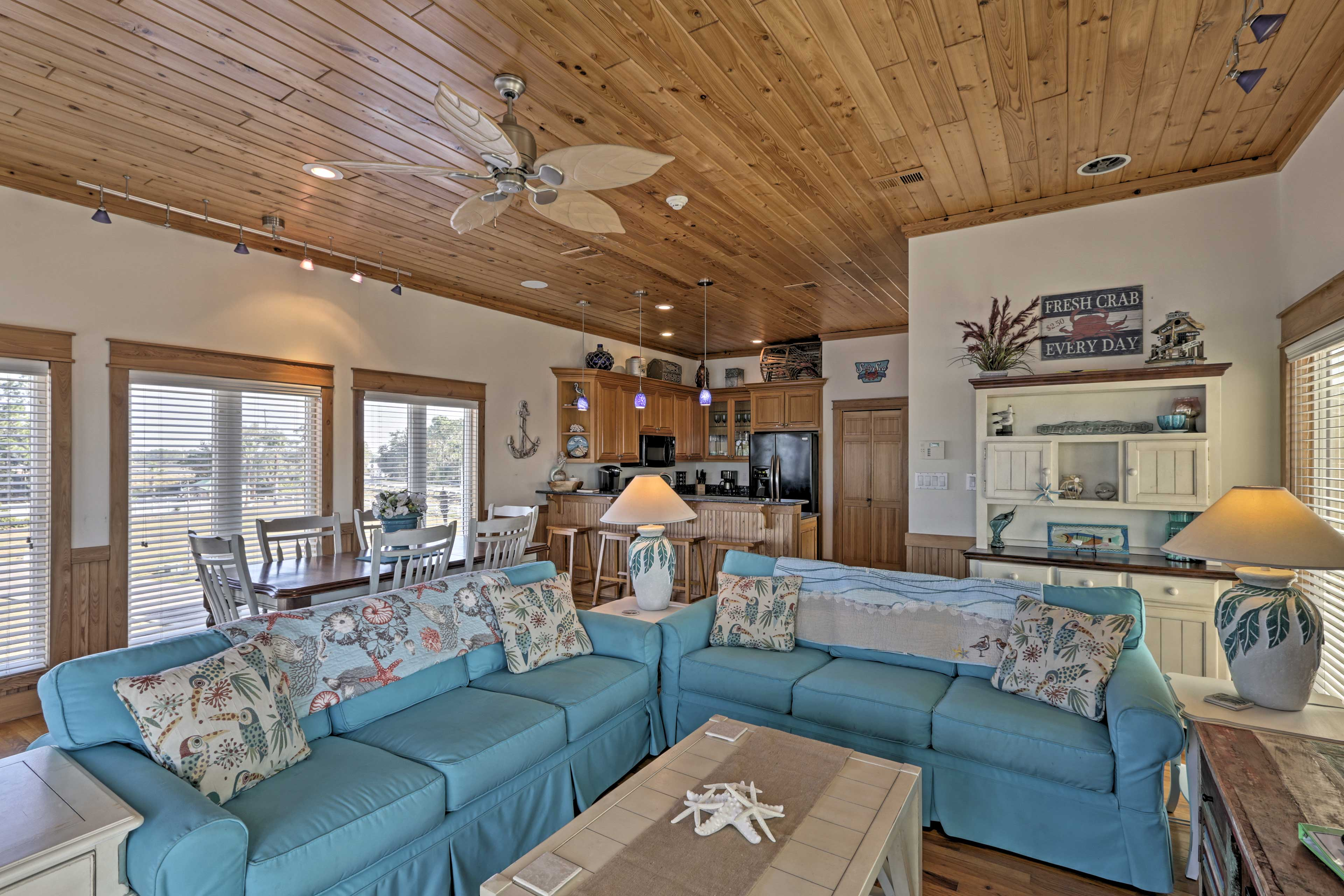 This home boasts over 2,000 square feet of well-designed living space!