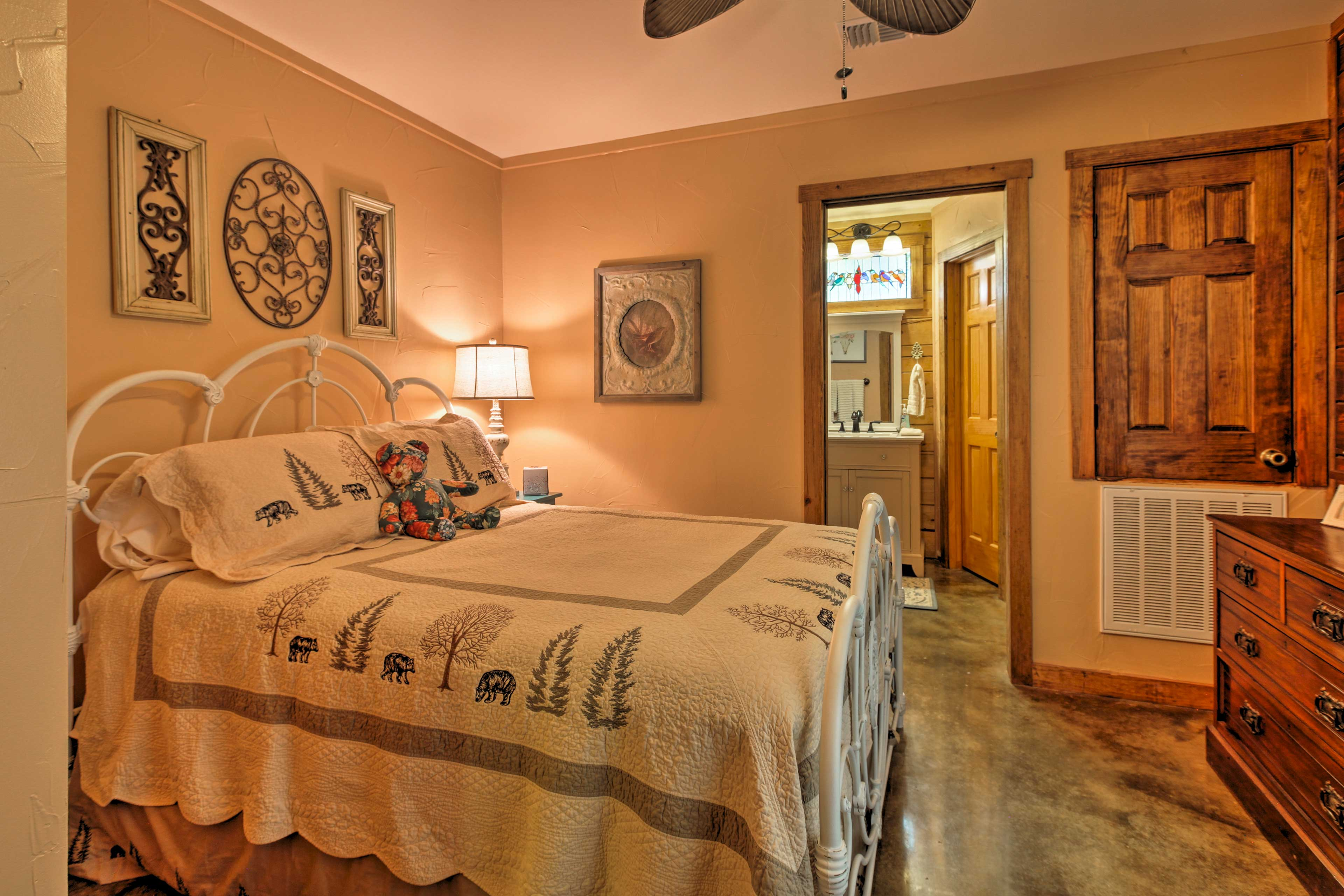 Drift off into dreamland in bedroom 2 boasting a full bed!