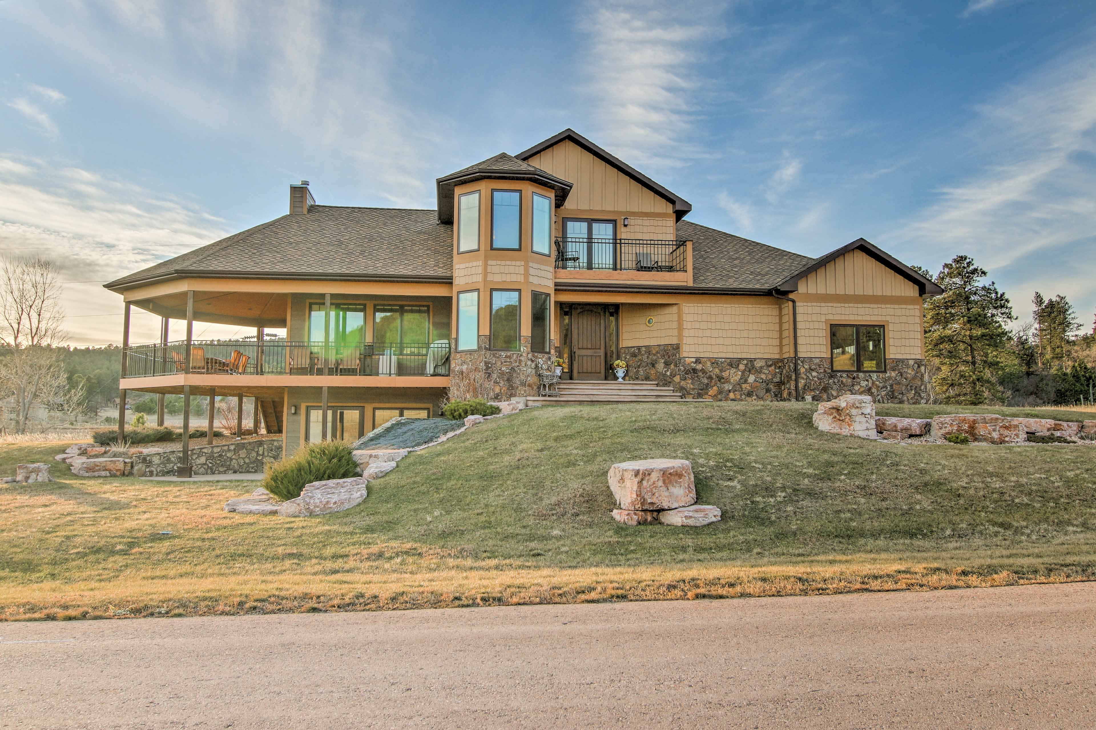 Take a trip to Sturgis at this vacation rental home just outside of the city!