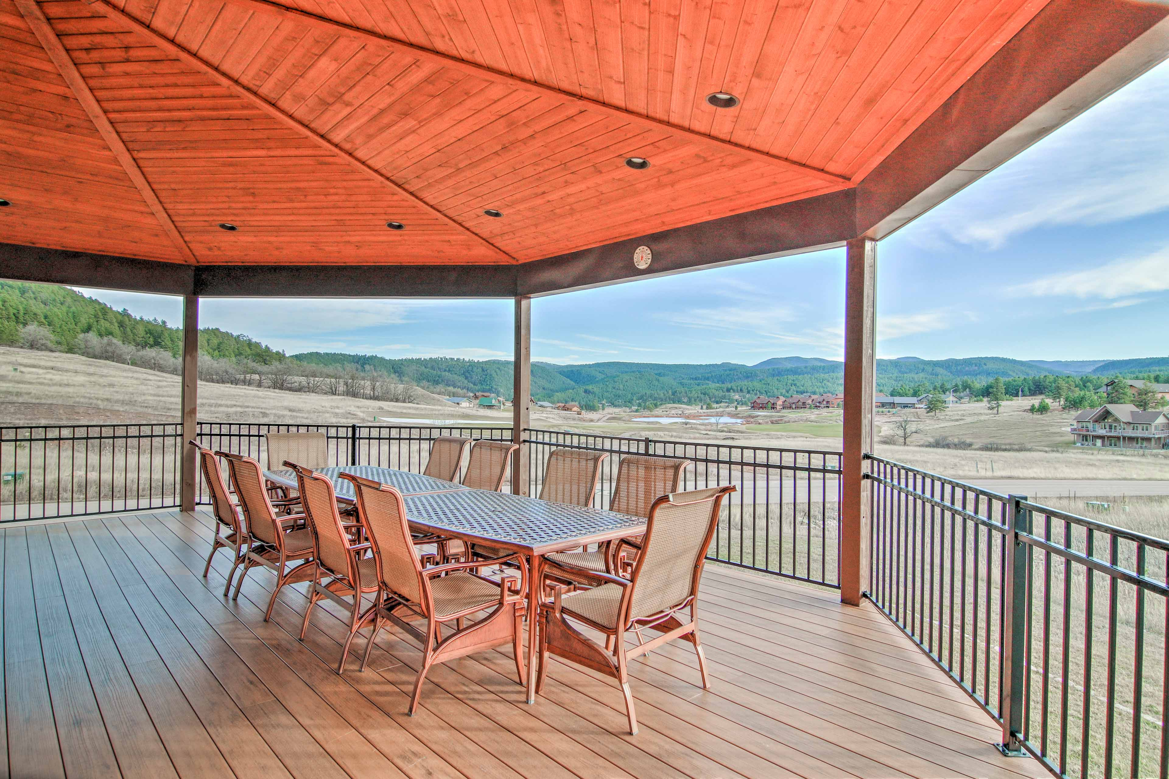 You'll be treated to incredible South Dakota views from every corner!