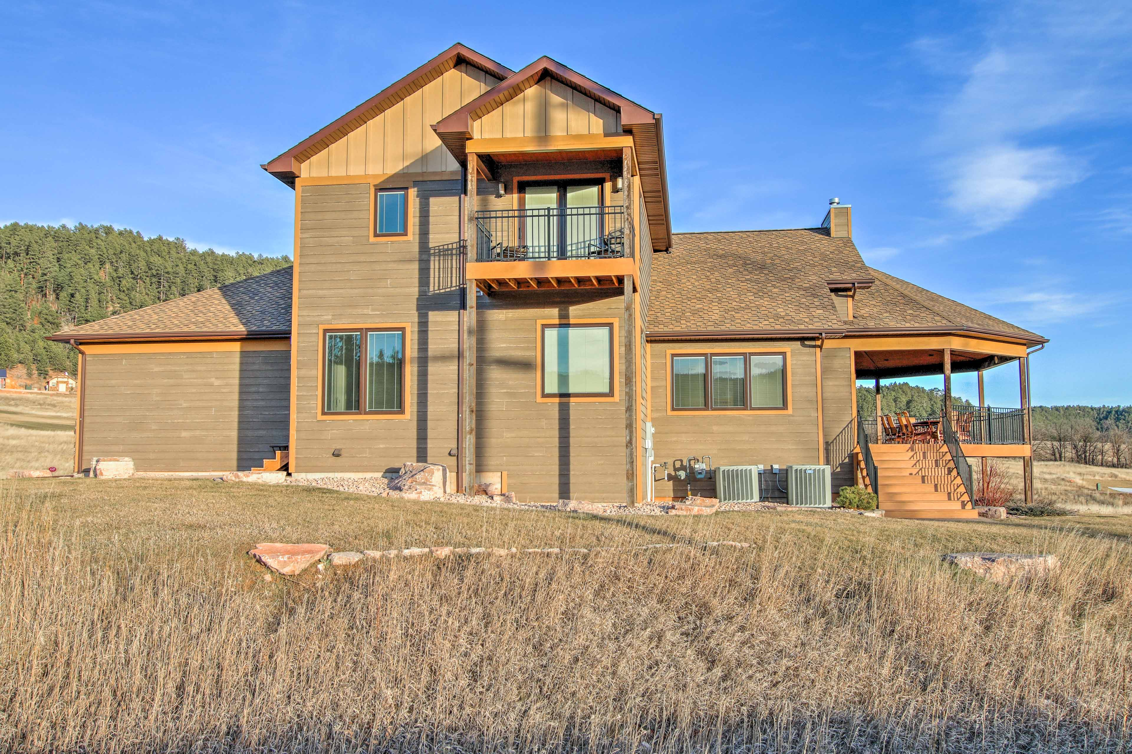 With unbeatable views outside and a beautiful indoor space, this house is soon to be your favorite stop in Sturgis!