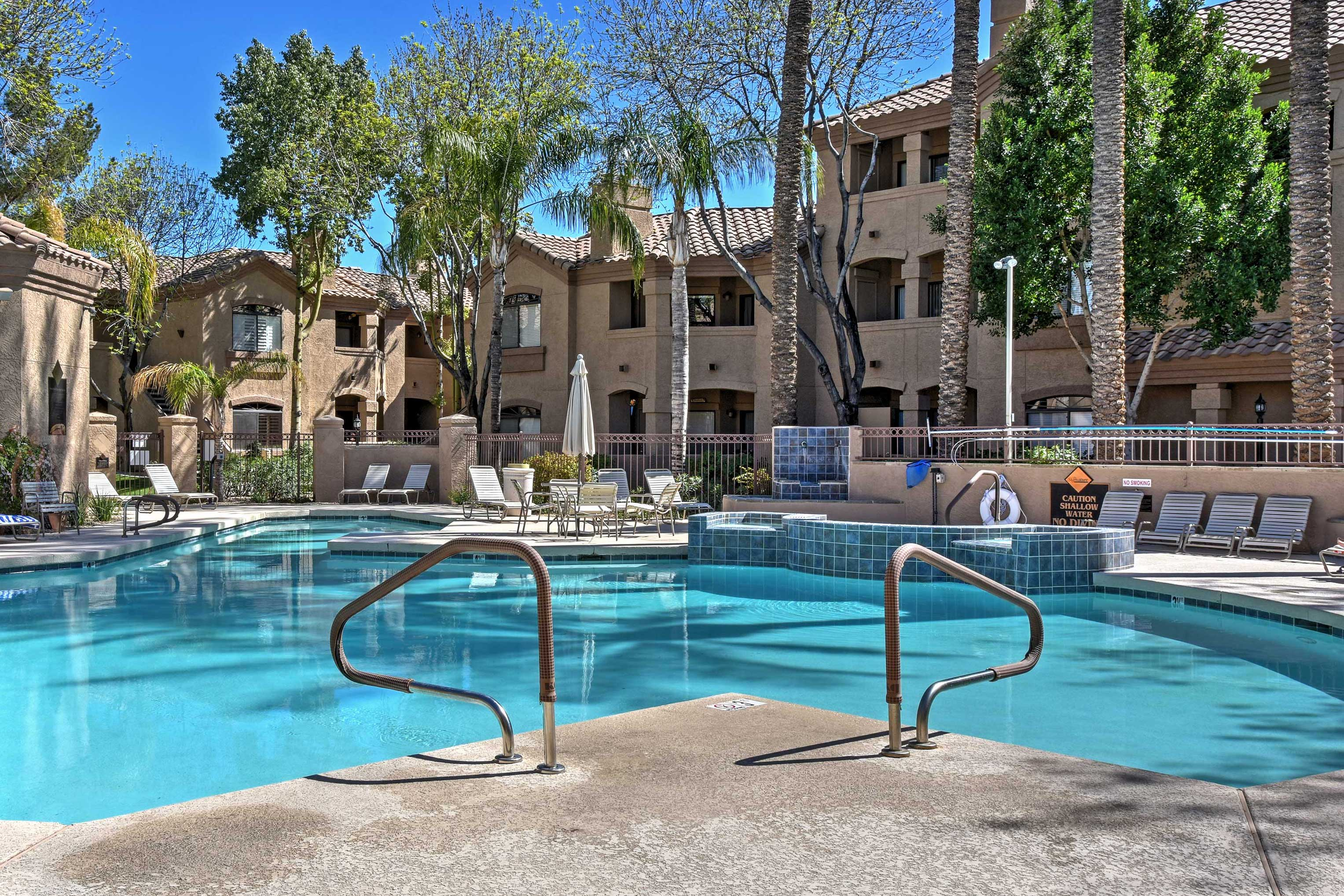 Discover Scottsdale living at this 2-bed, 1-bath vacation rental condo.