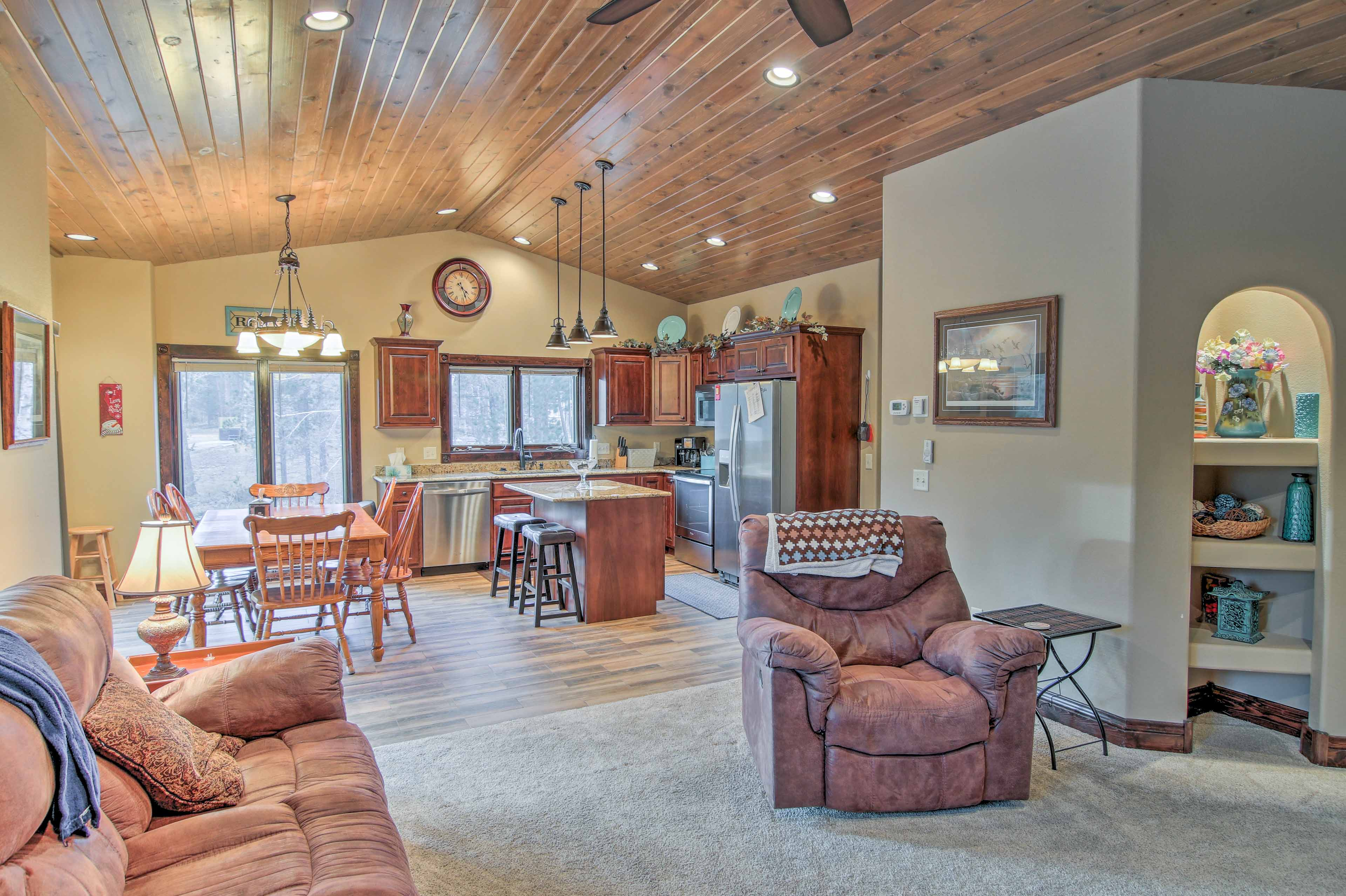 You'll have plenty of room for the whole family inside 3,500 square feet of updated interior.